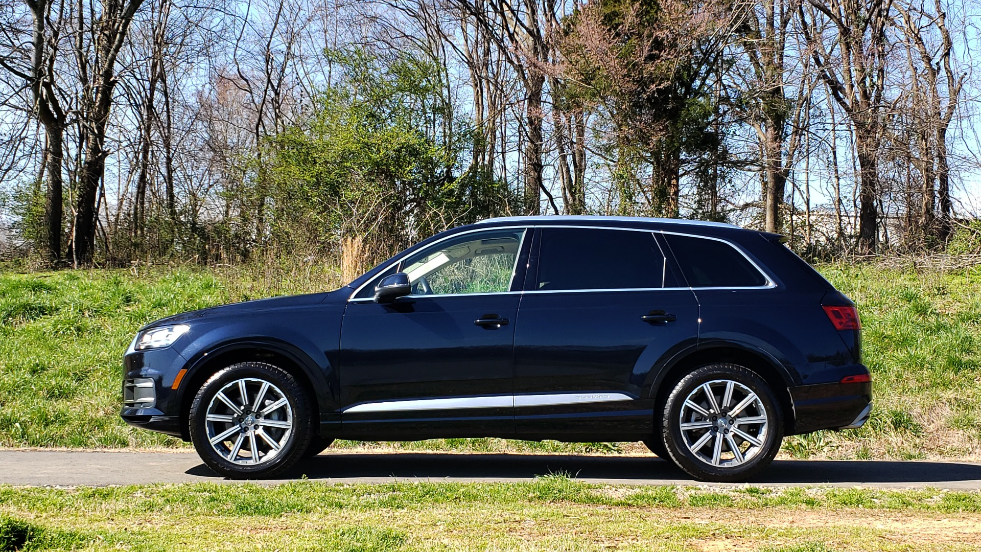 Used 2018 Audi Q7 PRESTIGE 3.0T CLD WTHR / NAV / BOSE / HEADS-UP / REARVIEW for sale Sold at Formula Imports in Charlotte NC 28227 2