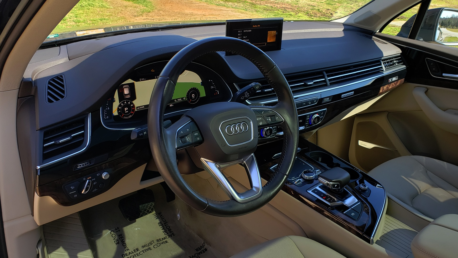 Used 2018 Audi Q7 PRESTIGE 3.0T CLD WTHR / NAV / BOSE / HEADS-UP / REARVIEW for sale Sold at Formula Imports in Charlotte NC 28227 37