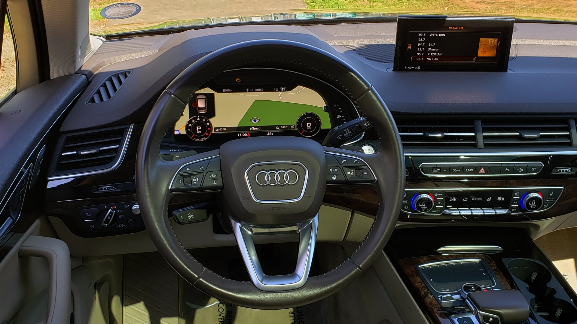Used 2018 Audi Q7 PRESTIGE 3.0T CLD WTHR / NAV / BOSE / HEADS-UP / REARVIEW for sale Sold at Formula Imports in Charlotte NC 28227 38
