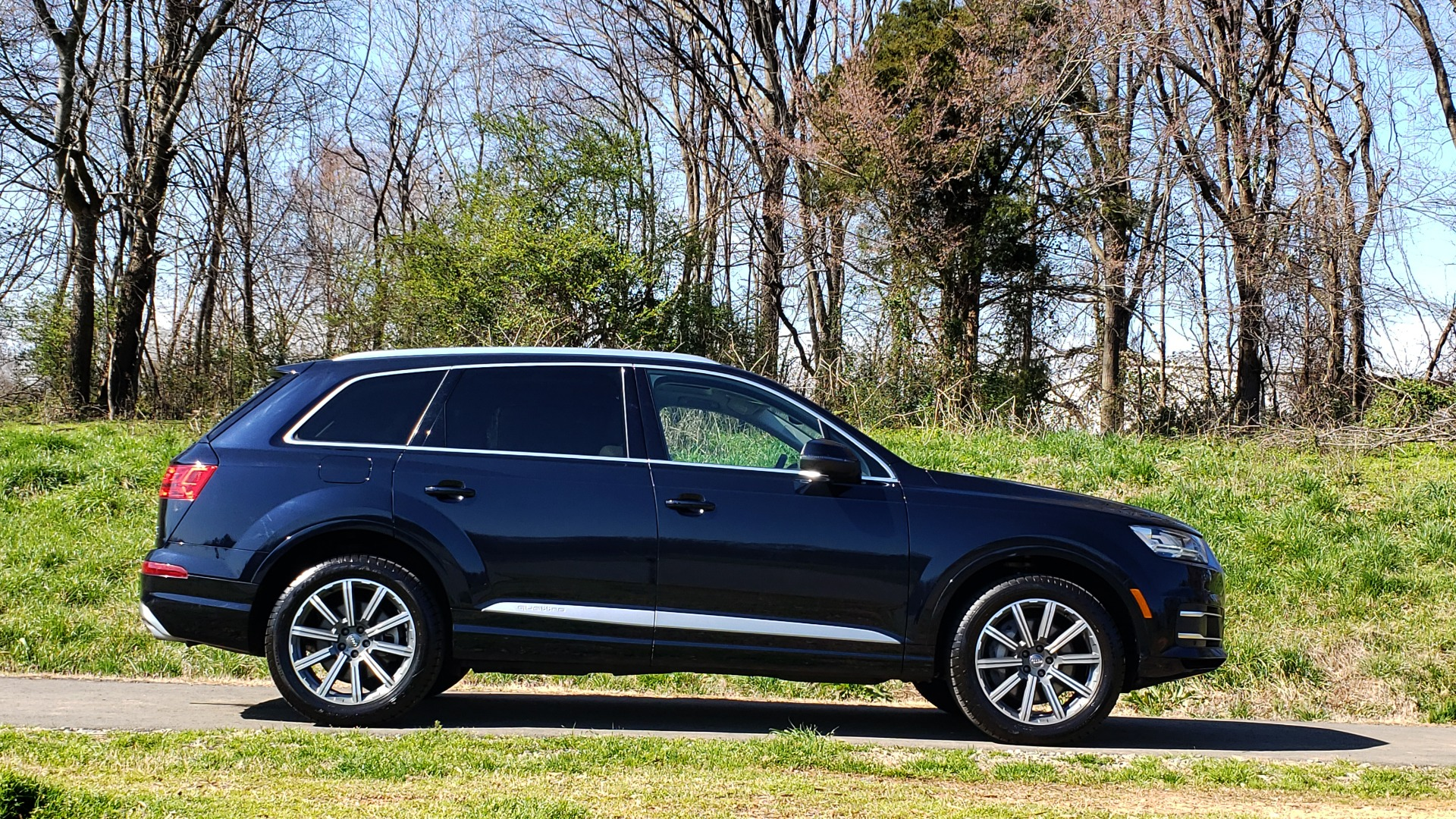 Used 2018 Audi Q7 PRESTIGE 3.0T CLD WTHR / NAV / BOSE / HEADS-UP / REARVIEW for sale Sold at Formula Imports in Charlotte NC 28227 5