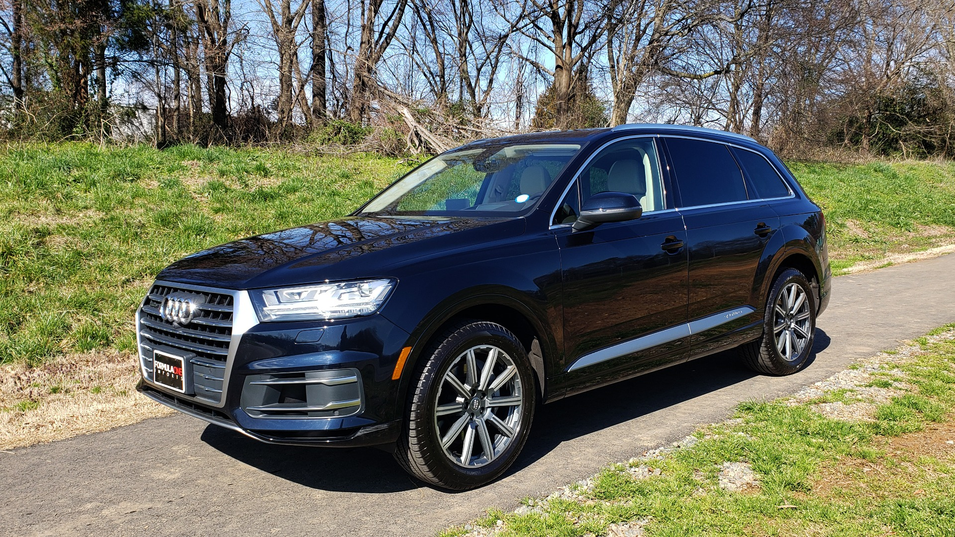 Used 2018 Audi Q7 PRESTIGE 3.0T CLD WTHR / NAV / BOSE / HEADS-UP / REARVIEW for sale Sold at Formula Imports in Charlotte NC 28227 1