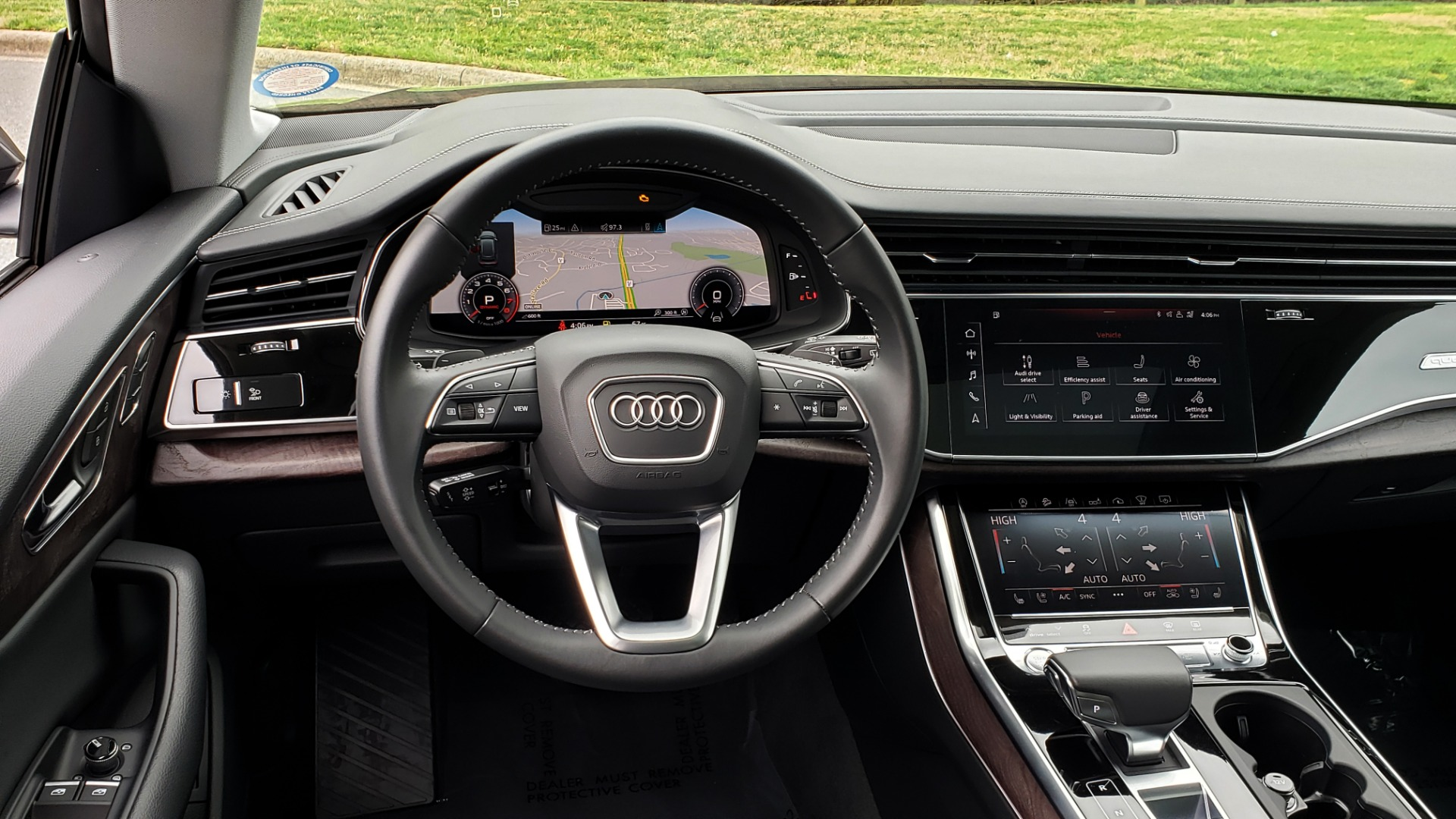Used 2019 Audi Q8 PRESTIGE 3.0 / NAV / SUNROOF / BO SND / COLD WTHR / REARVIEW for sale Sold at Formula Imports in Charlotte NC 28227 39
