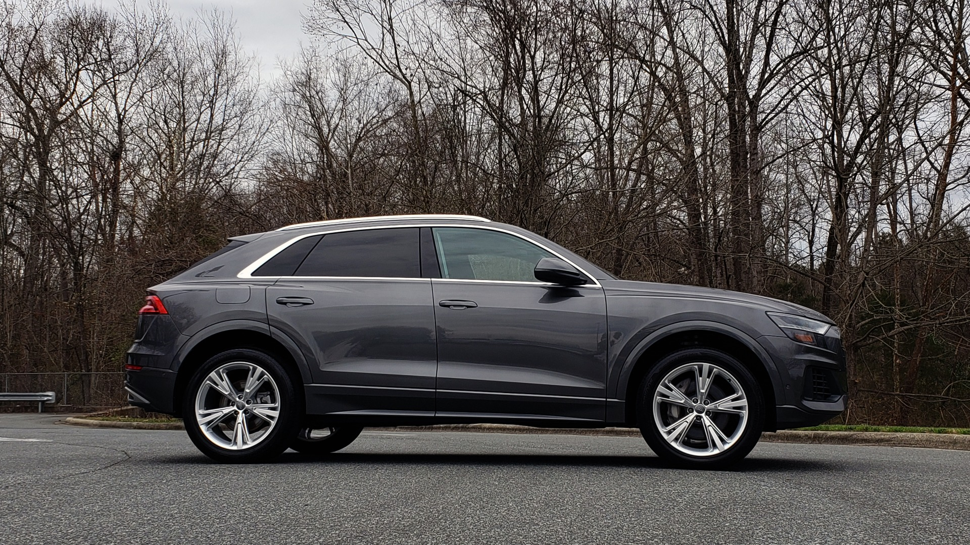 Used 2019 Audi Q8 PRESTIGE 3.0 / NAV / SUNROOF / BO SND / COLD WTHR / REARVIEW for sale Sold at Formula Imports in Charlotte NC 28227 5