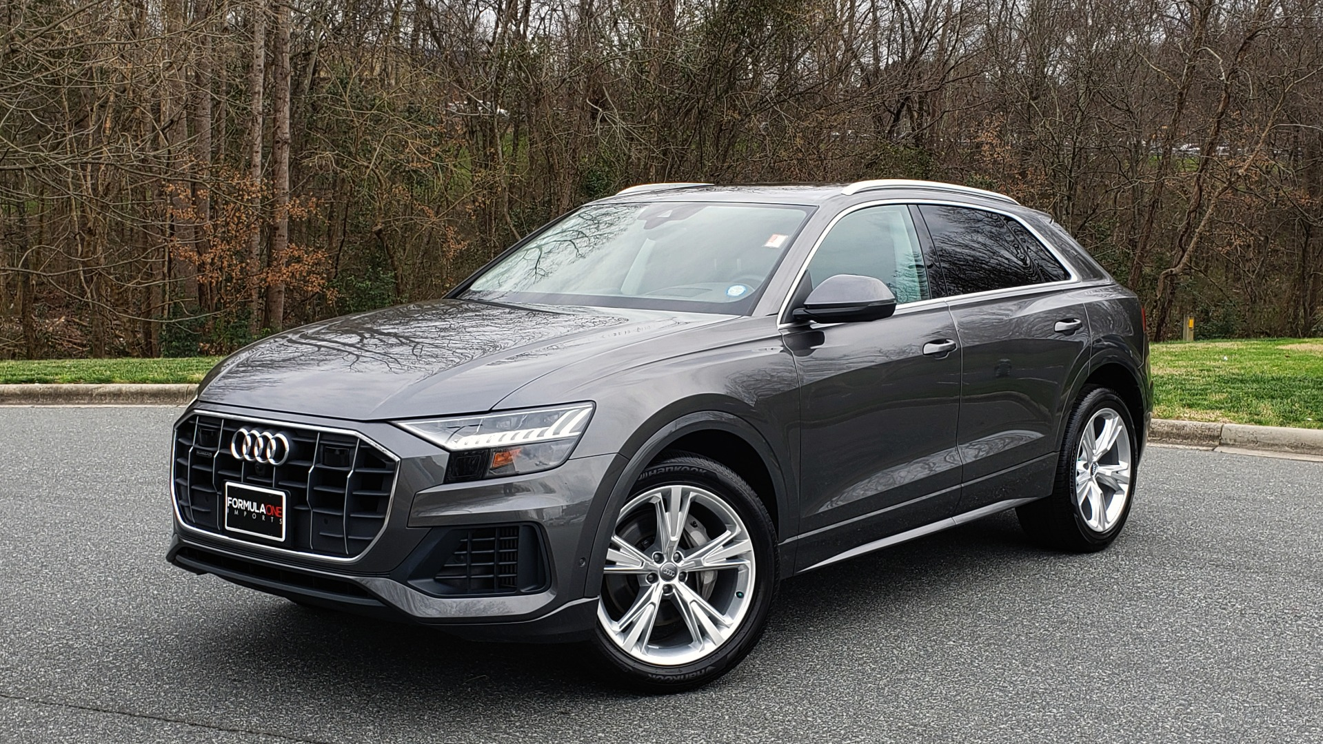 Used 2019 Audi Q8 PRESTIGE 3.0 / NAV / SUNROOF / BO SND / COLD WTHR / REARVIEW for sale Sold at Formula Imports in Charlotte NC 28227 1