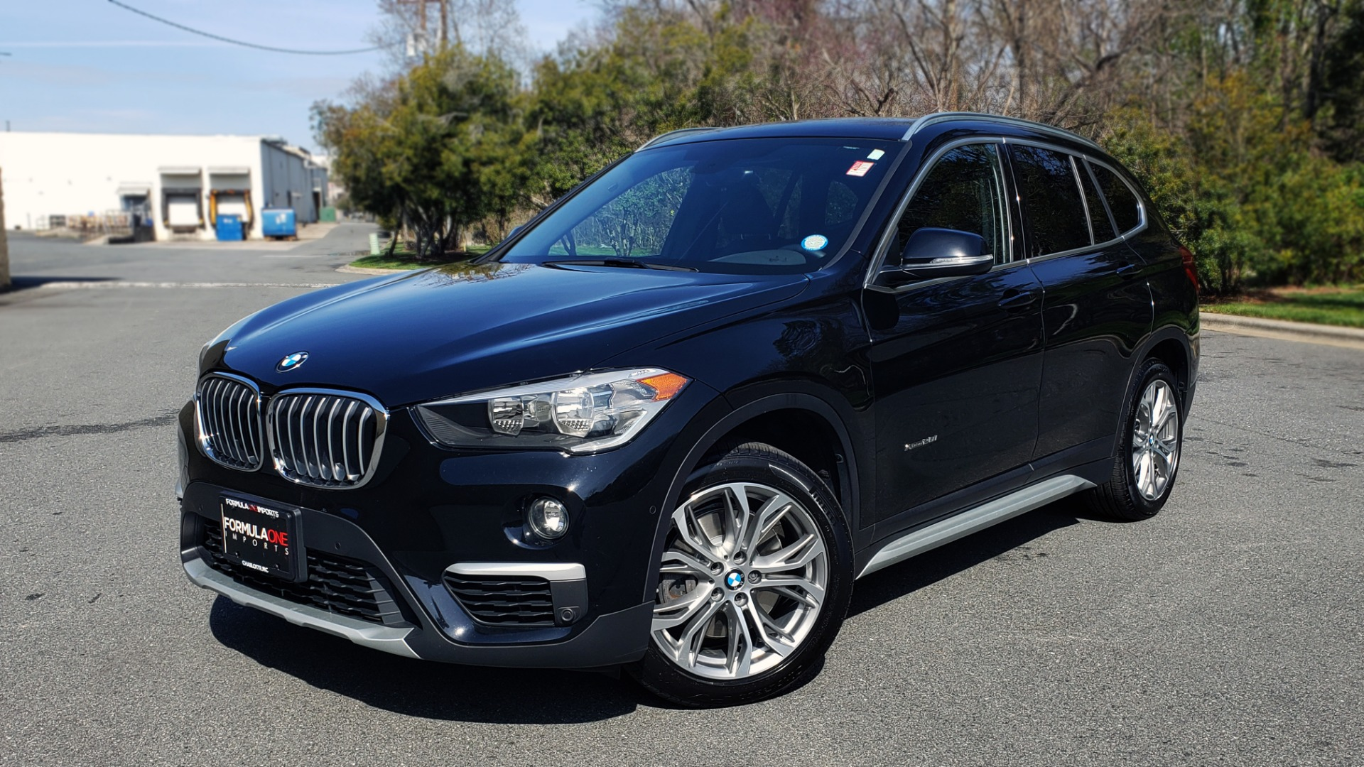 Used 2017 BMW X1 XDRIVE28I / COLD WTHR / DRIVER ASST / REARVIEW / PARK ASST for sale Sold at Formula Imports in Charlotte NC 28227 1