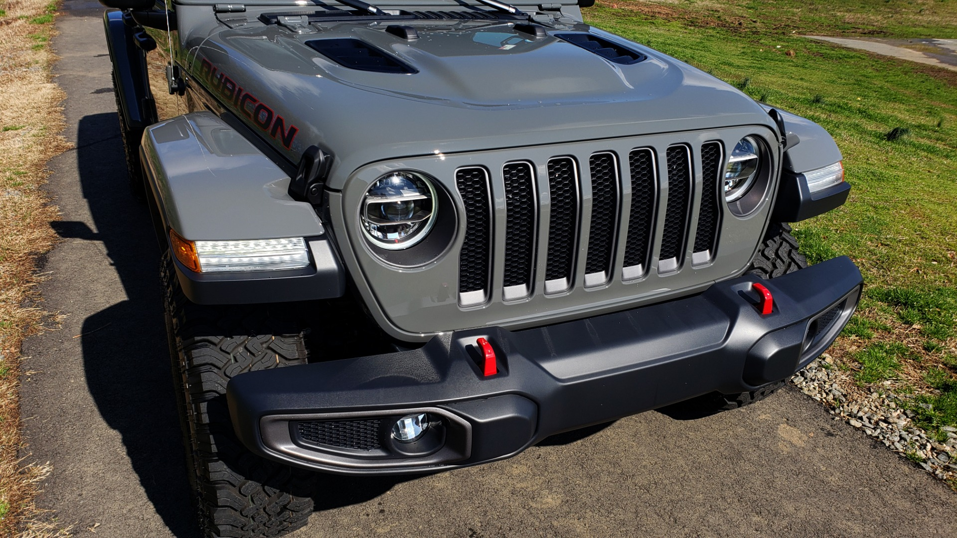 Used 2020 Jeep WRANGLER UNLIMITED RUBICON 4WD / POWER TOP / NAV / ALPINE / REARVIEW for sale Sold at Formula Imports in Charlotte NC 28227 13