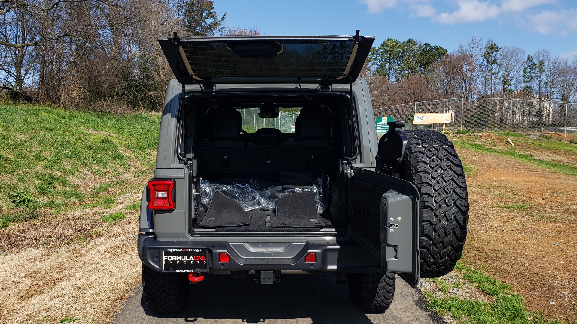 Used 2020 Jeep WRANGLER UNLIMITED RUBICON 4WD / POWER TOP / NAV / ALPINE / REARVIEW for sale Sold at Formula Imports in Charlotte NC 28227 22