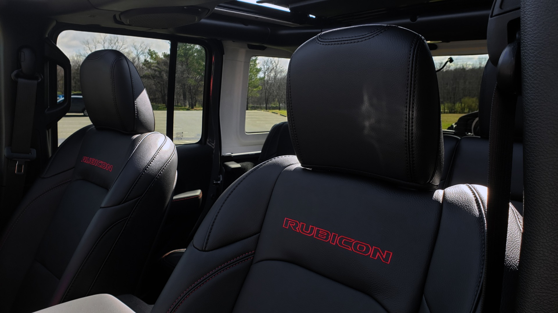 Used 2020 Jeep WRANGLER UNLIMITED RUBICON 4WD / POWER TOP / NAV / ALPINE / REARVIEW for sale Sold at Formula Imports in Charlotte NC 28227 39