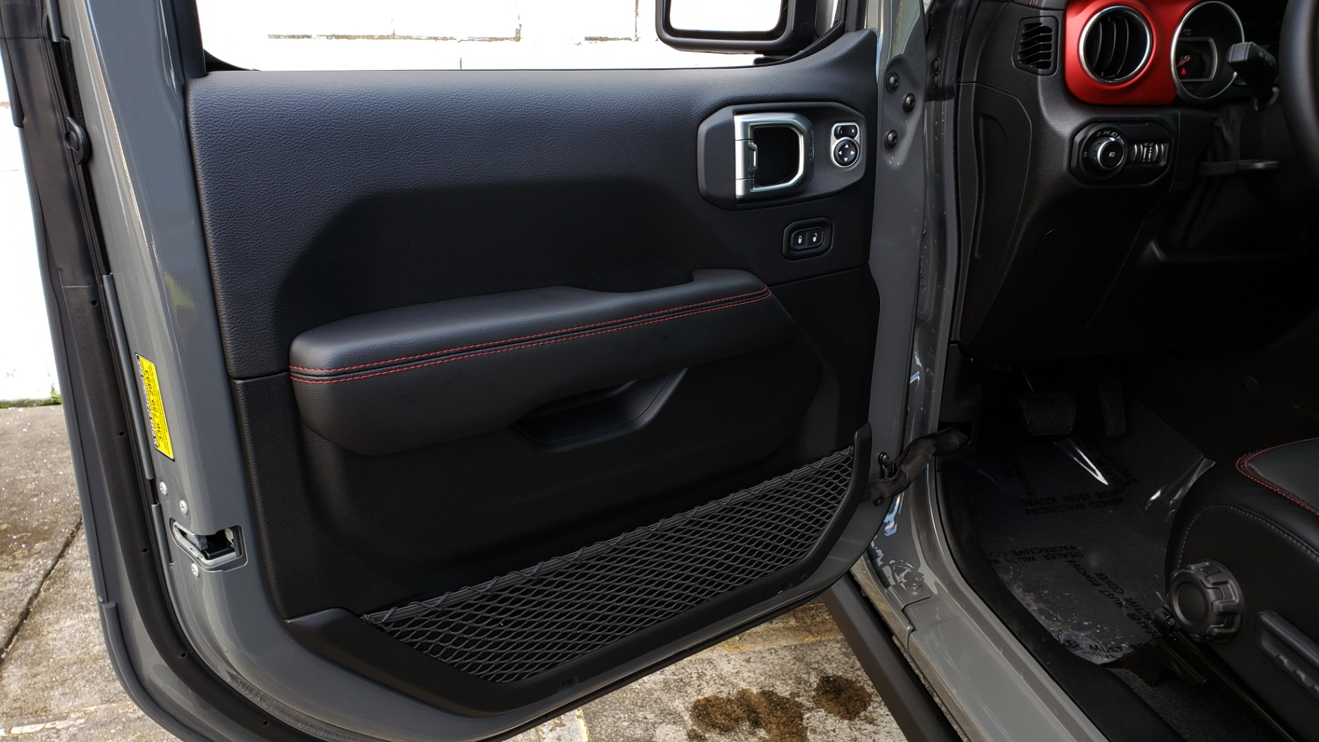 Used 2020 Jeep WRANGLER UNLIMITED RUBICON 4WD / POWER TOP / NAV / ALPINE / REARVIEW for sale Sold at Formula Imports in Charlotte NC 28227 47