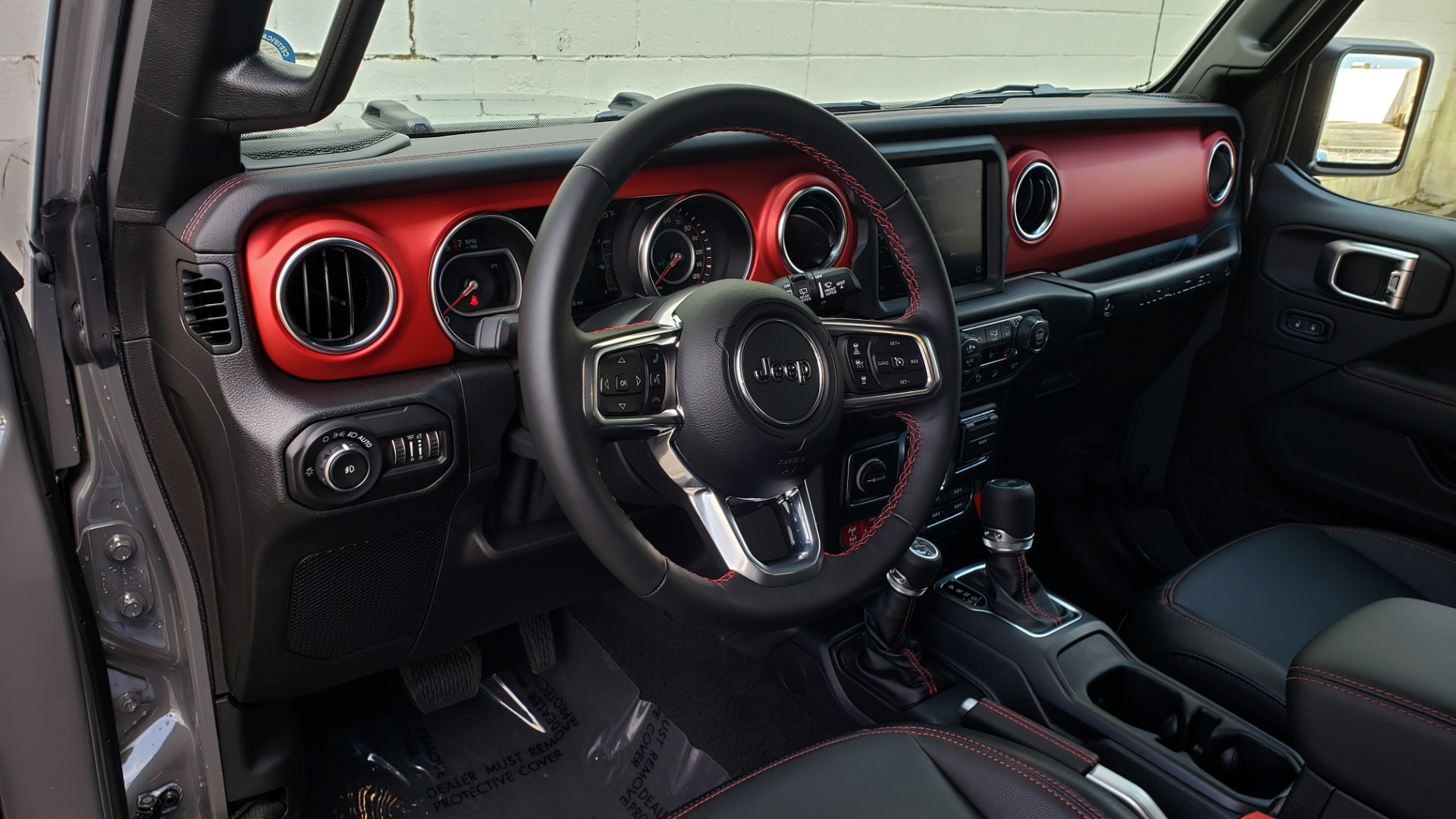 Used 2020 Jeep WRANGLER UNLIMITED RUBICON 4WD / POWER TOP / NAV / ALPINE / REARVIEW for sale Sold at Formula Imports in Charlotte NC 28227 51
