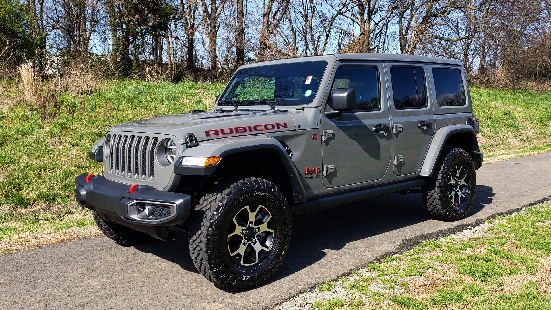 Used 2020 Jeep WRANGLER UNLIMITED RUBICON 4WD / POWER TOP / NAV / ALPINE / REARVIEW for sale Sold at Formula Imports in Charlotte NC 28227 6