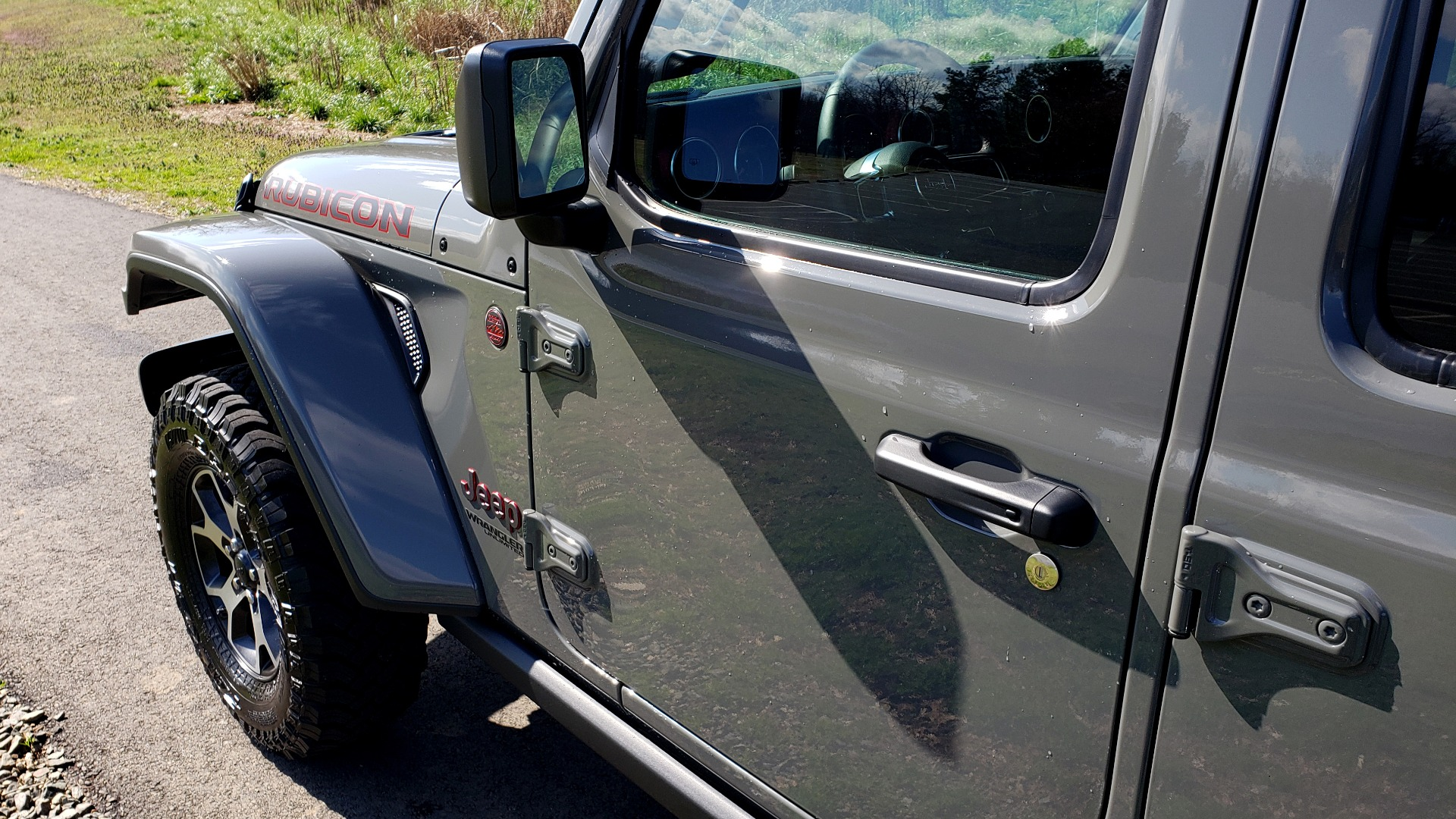 Used 2020 Jeep WRANGLER UNLIMITED RUBICON 4WD / POWER TOP / NAV / ALPINE / REARVIEW for sale Sold at Formula Imports in Charlotte NC 28227 8