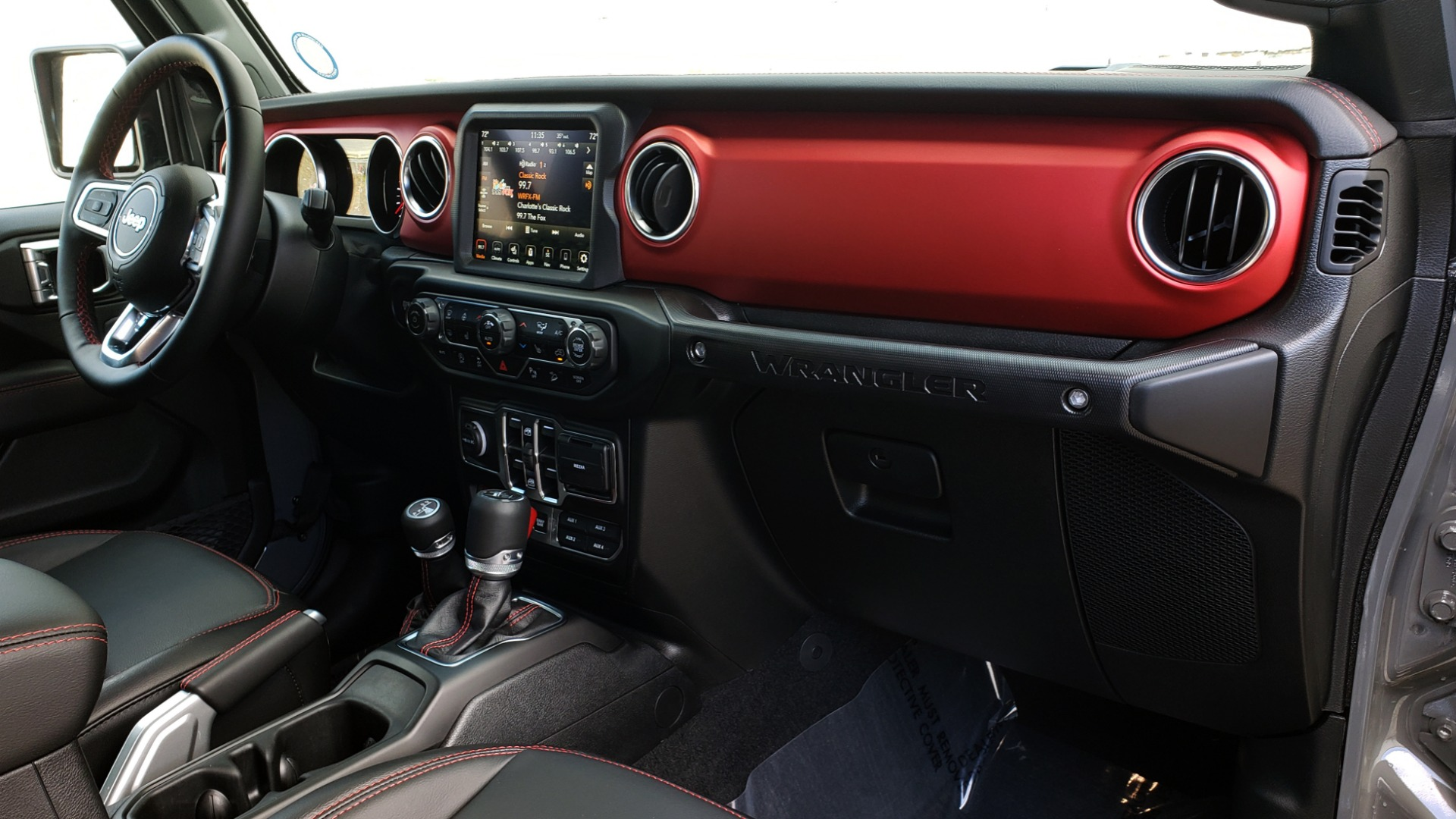 Used 2020 Jeep WRANGLER UNLIMITED RUBICON 4WD / POWER TOP / NAV / ALPINE / REARVIEW for sale Sold at Formula Imports in Charlotte NC 28227 83