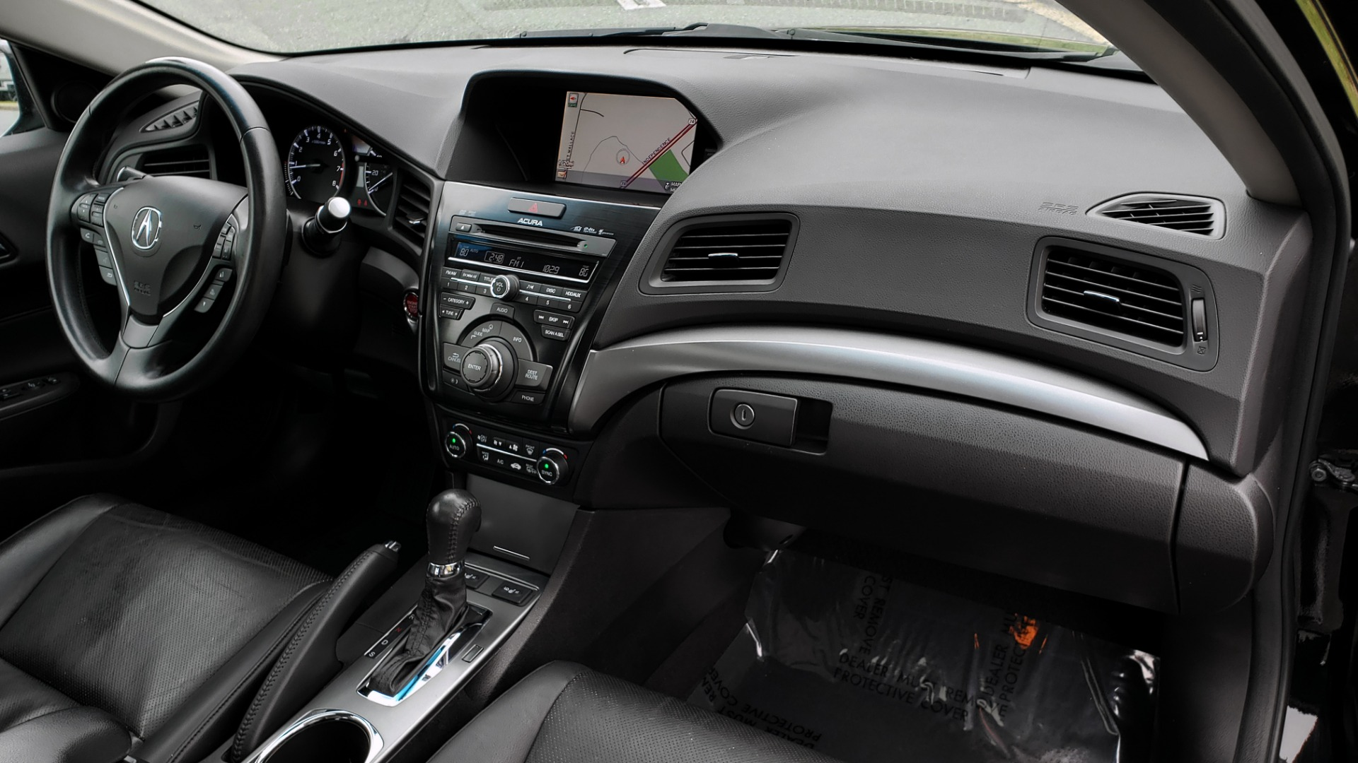 Used 2013 Acura ILX TECH PKG / SUNROOF / NAV / DUAL-ZONE A/C / REARVIEW for sale Sold at Formula Imports in Charlotte NC 28227 61