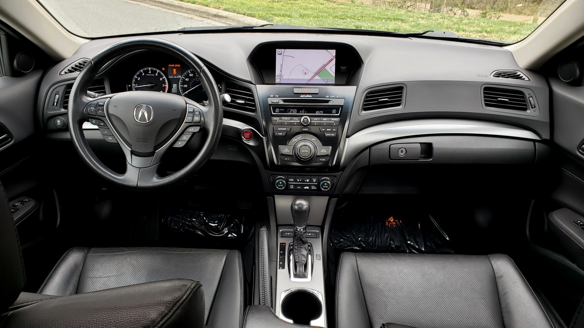 Used 2013 Acura ILX TECH PKG / SUNROOF / NAV / DUAL-ZONE A/C / REARVIEW for sale Sold at Formula Imports in Charlotte NC 28227 69
