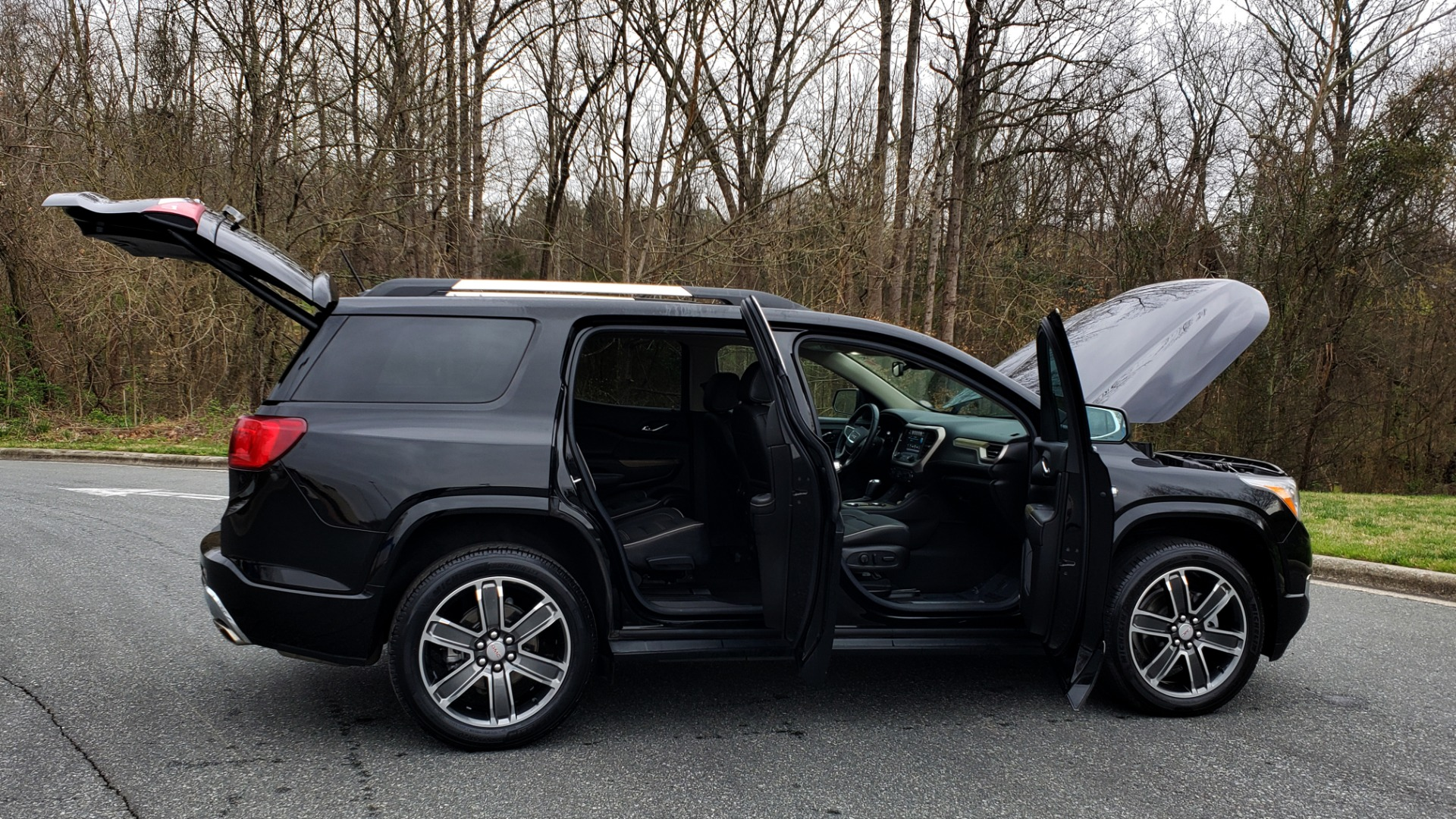Used 2018 GMC ACADIA DENALI FWD / NAV / SUNROOF / BOSE / 3-ROW / REARVIEW for sale Sold at Formula Imports in Charlotte NC 28227 10