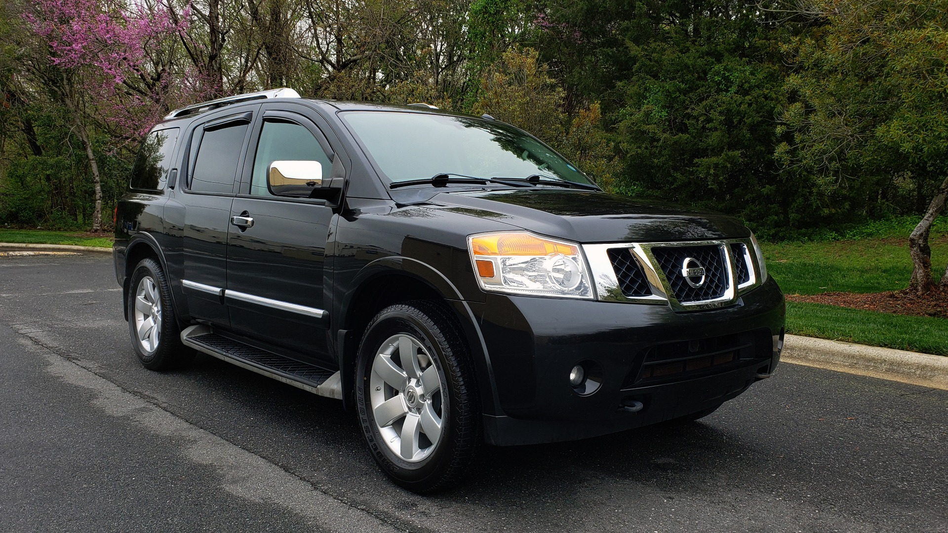 Used 2013 Nissan ARMADA SL 4WD / 5.6L V8 / NAV / SUNROOF / 3-ROW / REARVIEW for sale Sold at Formula Imports in Charlotte NC 28227 4