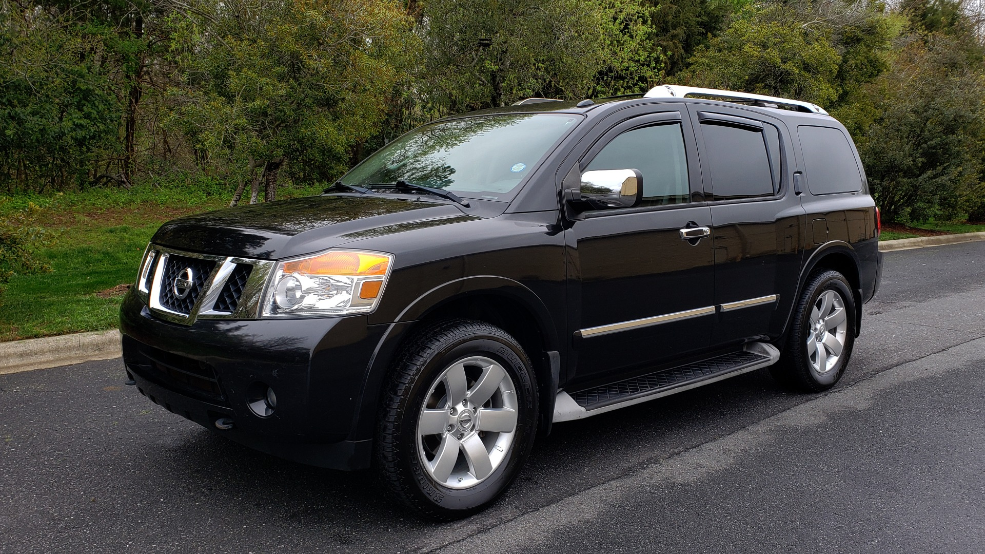 Used 2013 Nissan ARMADA SL 4WD / 5.6L V8 / NAV / SUNROOF / 3-ROW / REARVIEW for sale Sold at Formula Imports in Charlotte NC 28227 1