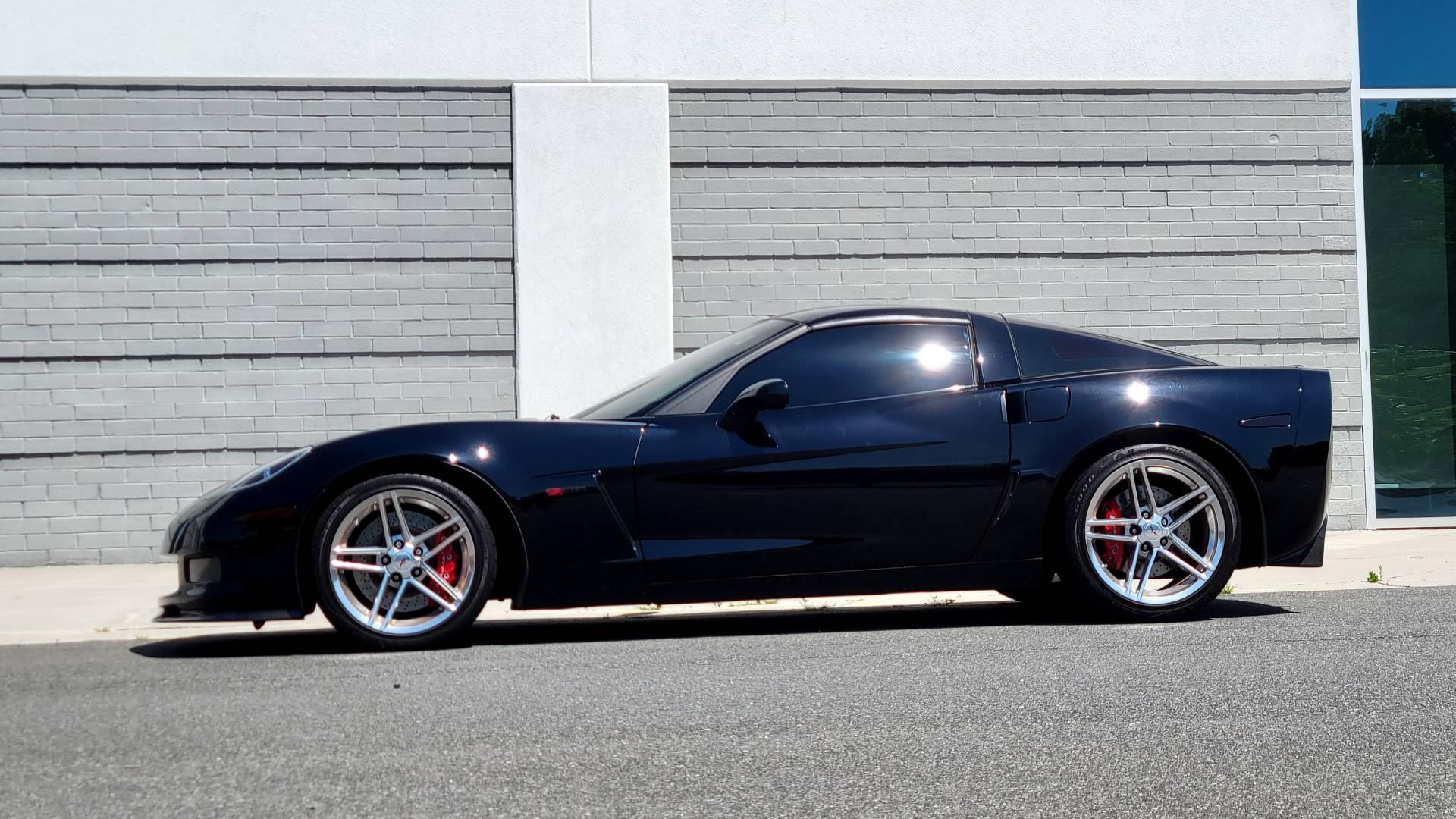 Used 2007 Chevrolet CORVETTE Z06 2LZ / 7.0L 427 V8 / 6-SPD MAN / BOSE / POLISHED WHEELS for sale Sold at Formula Imports in Charlotte NC 28227 17