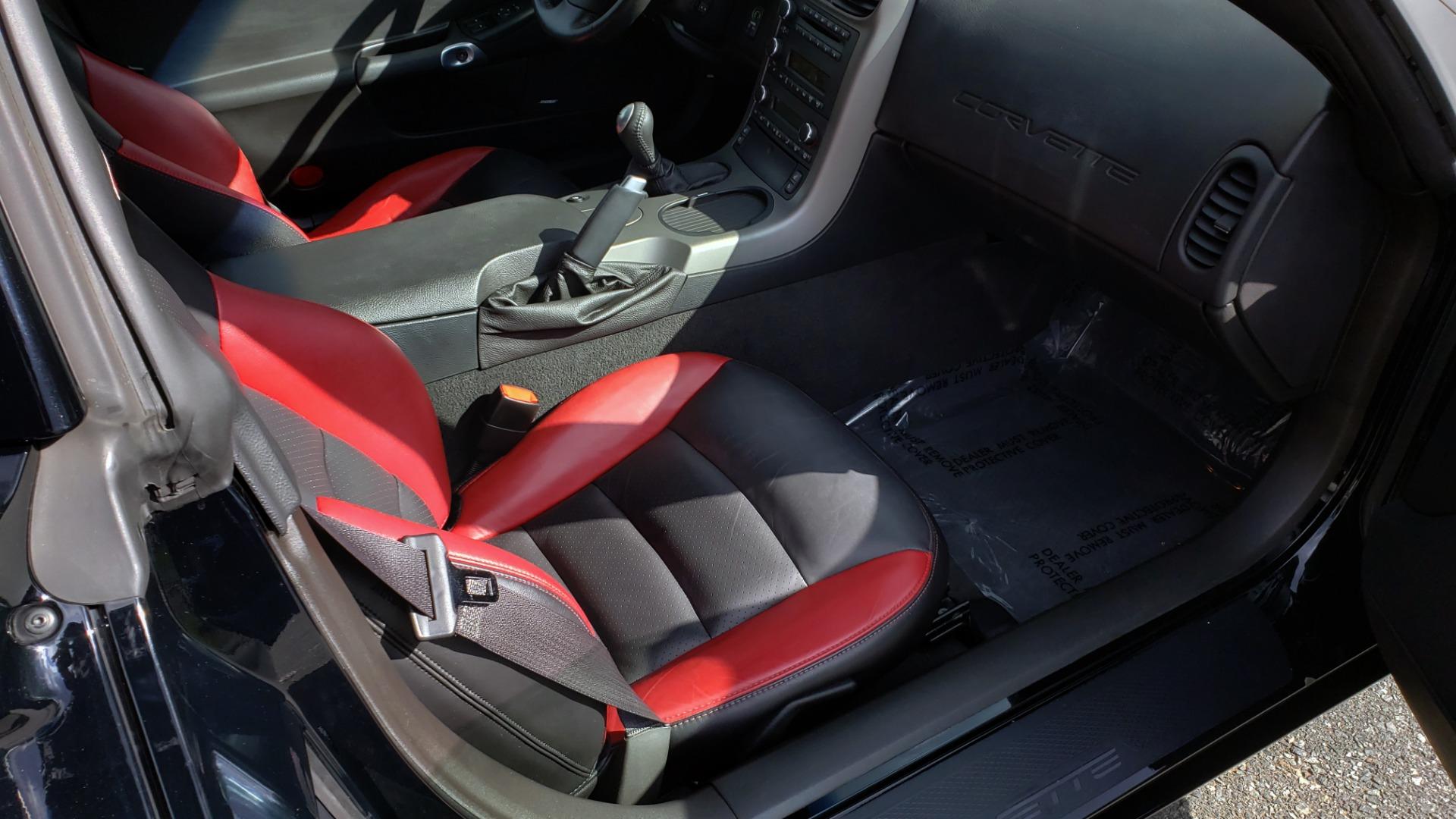 Used 2007 Chevrolet CORVETTE Z06 2LZ / 7.0L 427 V8 / 6-SPD MAN / BOSE / POLISHED WHEELS for sale Sold at Formula Imports in Charlotte NC 28227 22