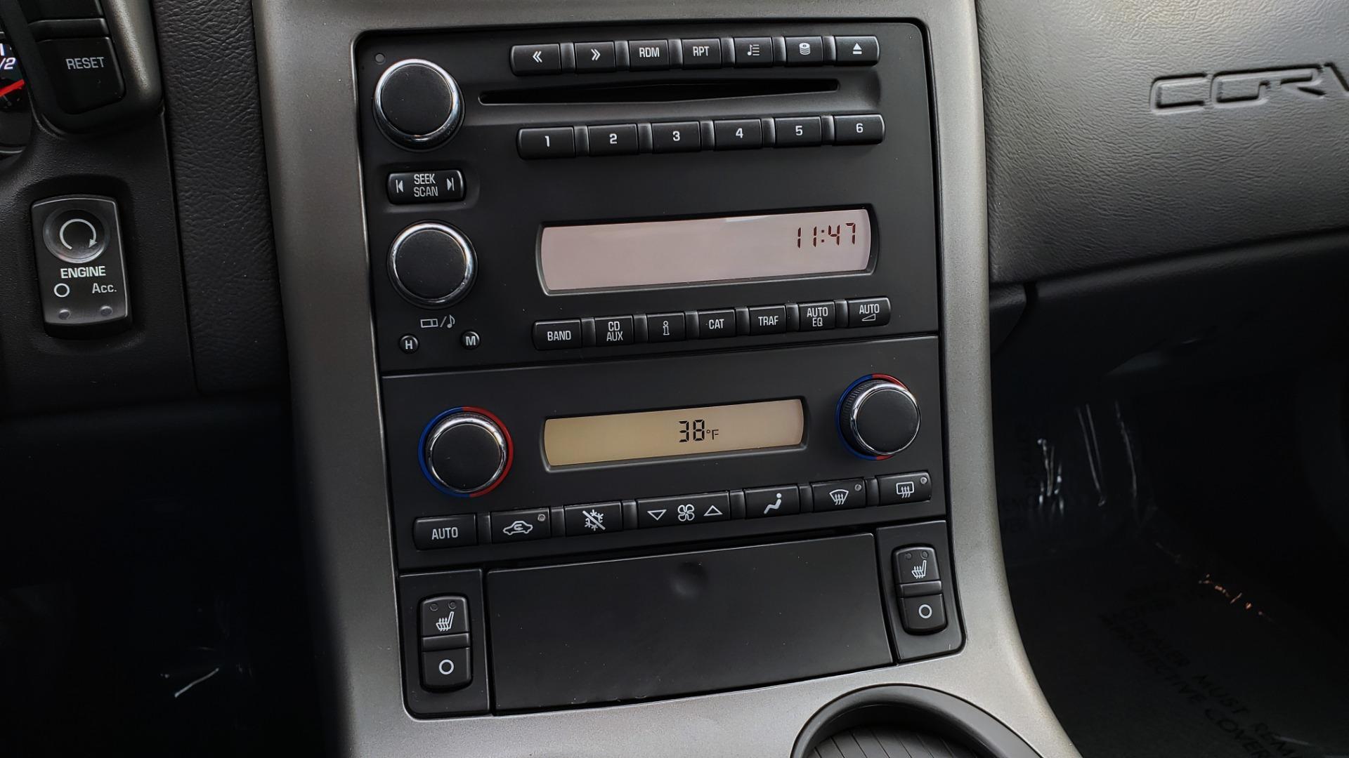 Used 2007 Chevrolet CORVETTE Z06 2LZ / 7.0L 427 V8 / 6-SPD MAN / BOSE / POLISHED WHEELS for sale Sold at Formula Imports in Charlotte NC 28227 67
