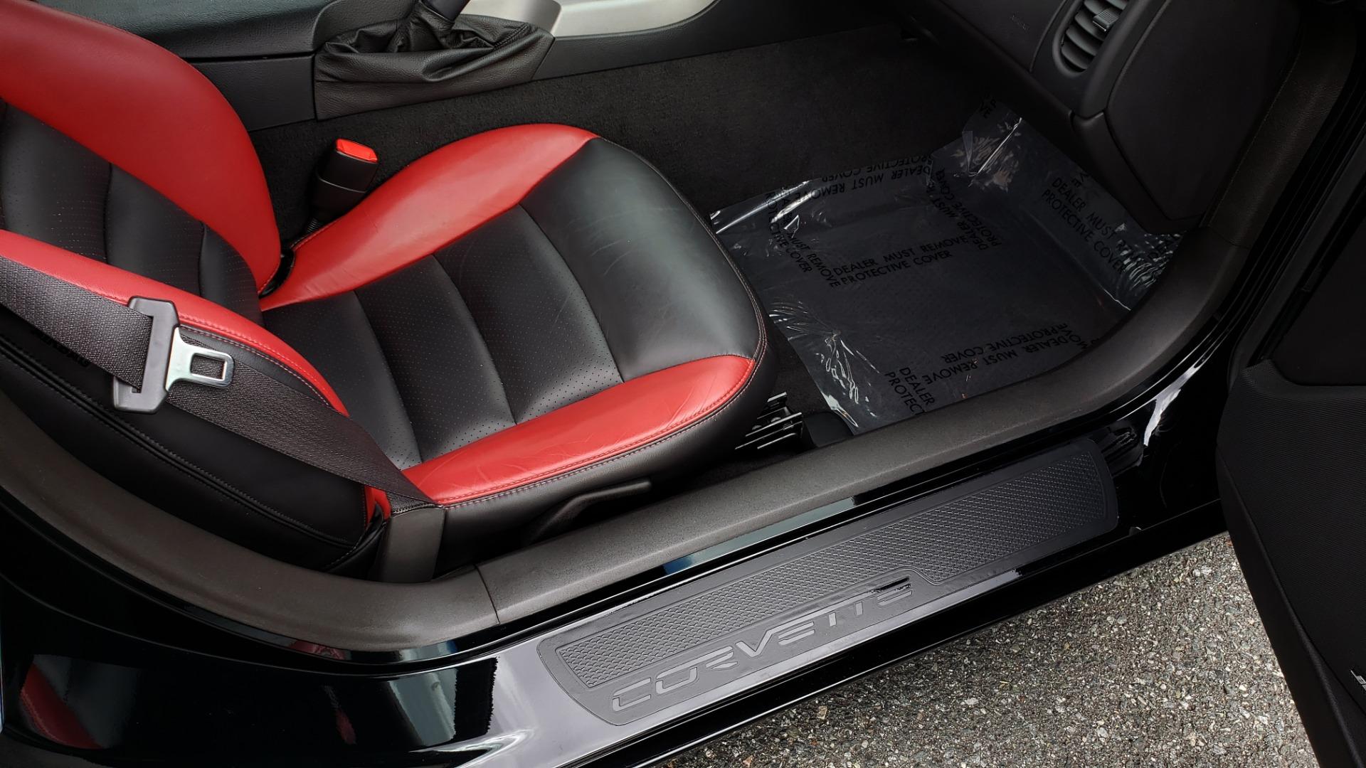 Used 2007 Chevrolet CORVETTE Z06 2LZ / 7.0L 427 V8 / 6-SPD MAN / BOSE / POLISHED WHEELS for sale Sold at Formula Imports in Charlotte NC 28227 83