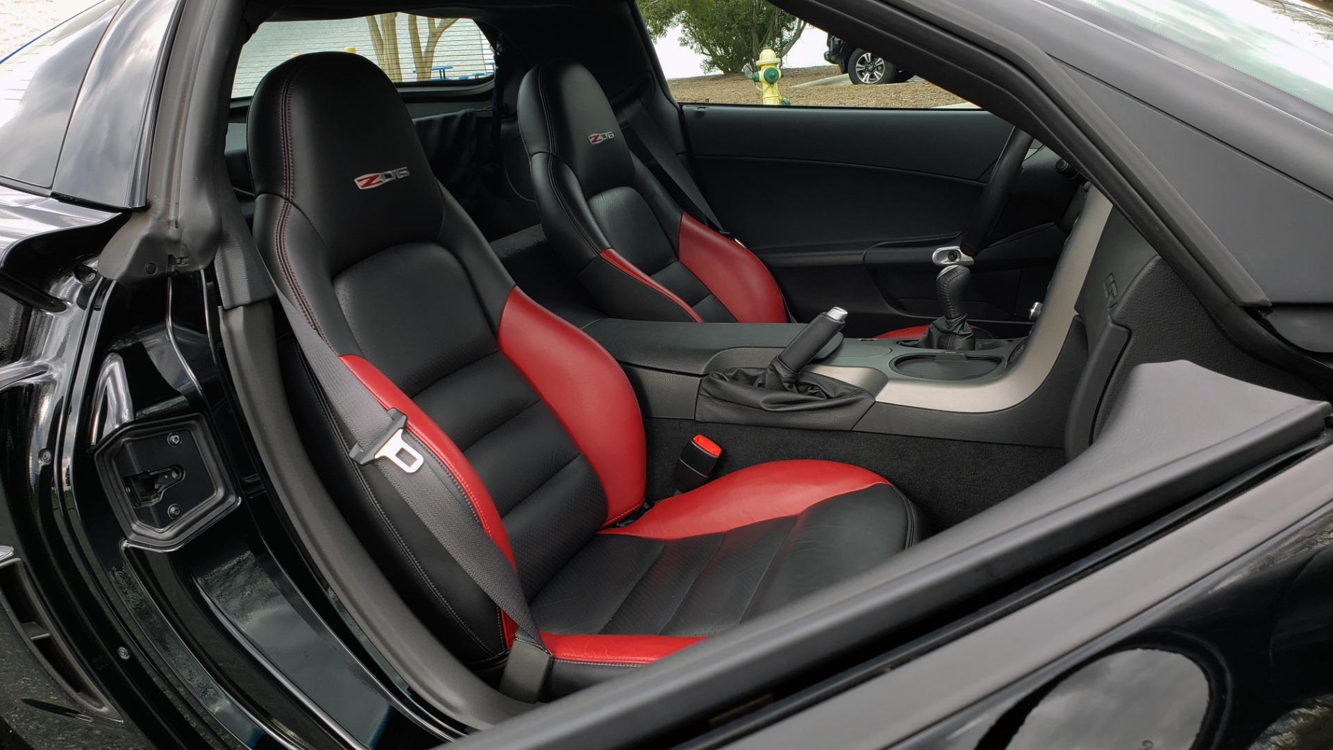Used 2007 Chevrolet CORVETTE Z06 2LZ / 7.0L 427 V8 / 6-SPD MAN / BOSE / POLISHED WHEELS for sale Sold at Formula Imports in Charlotte NC 28227 84