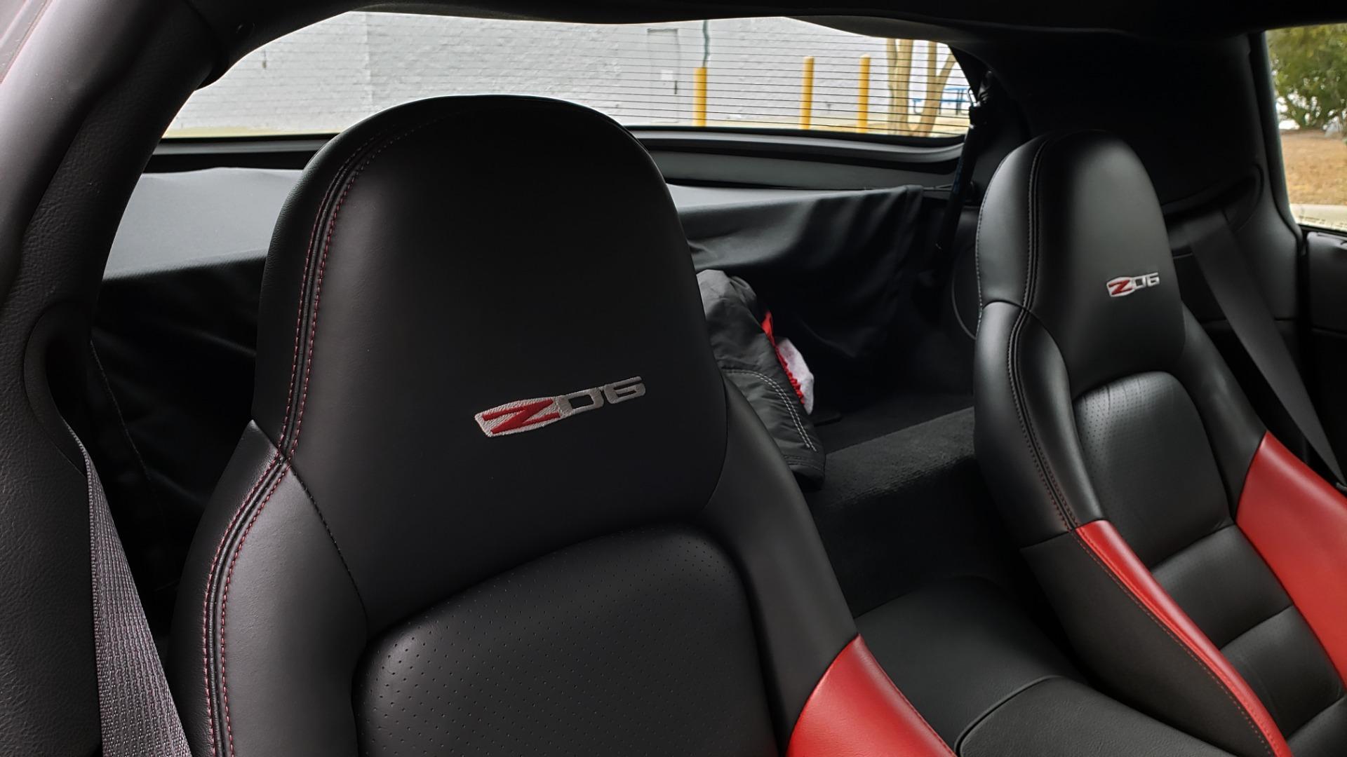 Used 2007 Chevrolet CORVETTE Z06 2LZ / 7.0L 427 V8 / 6-SPD MAN / BOSE / POLISHED WHEELS for sale Sold at Formula Imports in Charlotte NC 28227 85