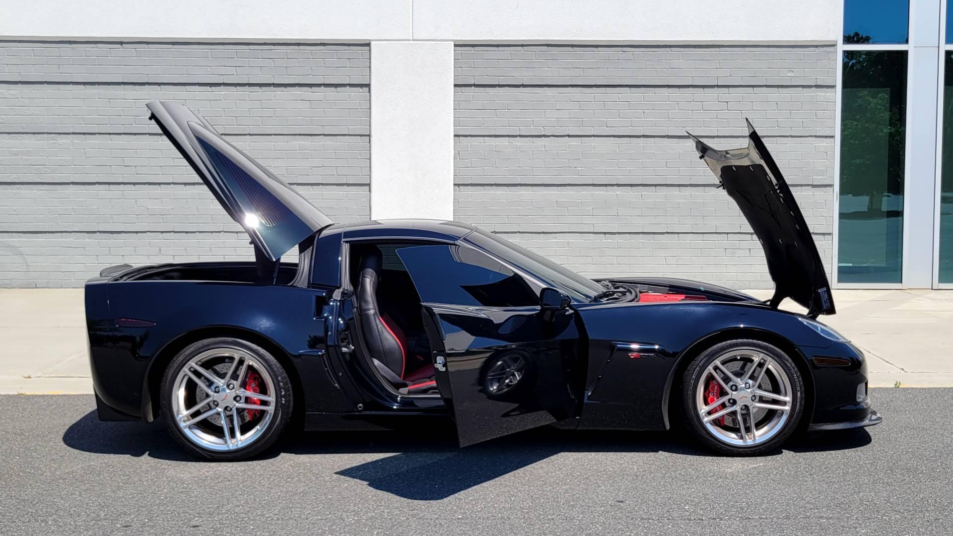 Used 2007 Chevrolet CORVETTE Z06 2LZ / 7.0L 427 V8 / 6-SPD MAN / BOSE / POLISHED WHEELS for sale Sold at Formula Imports in Charlotte NC 28227 9