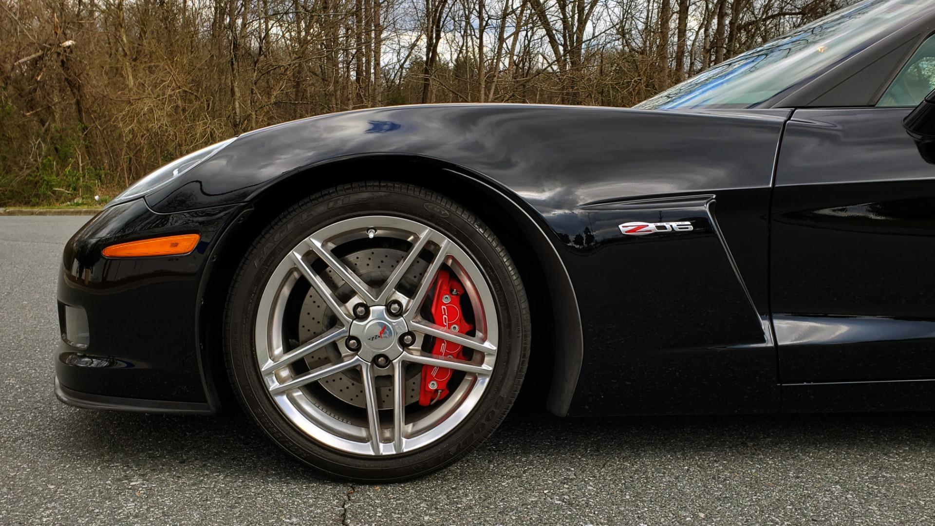 Used 2007 Chevrolet CORVETTE Z06 2LZ / 7.0L 427 V8 / 6-SPD MAN / BOSE / POLISHED WHEELS for sale Sold at Formula Imports in Charlotte NC 28227 93