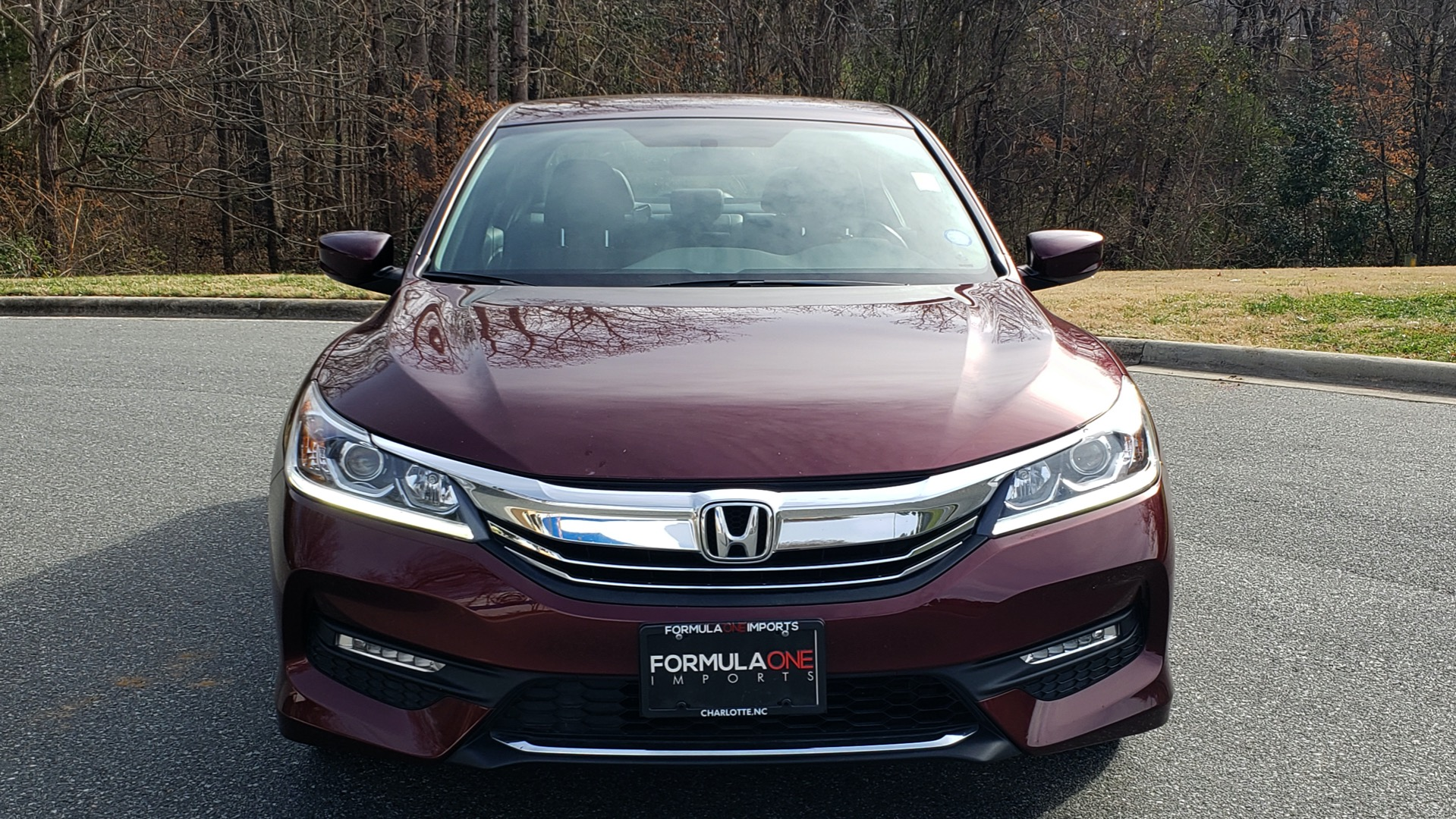 Used 2017 Honda ACCORD SEDAN SPORT / REARVIEW / / DUAL-ZONE A/C / 19IN ALLOY WHEELS for sale Sold at Formula Imports in Charlotte NC 28227 21