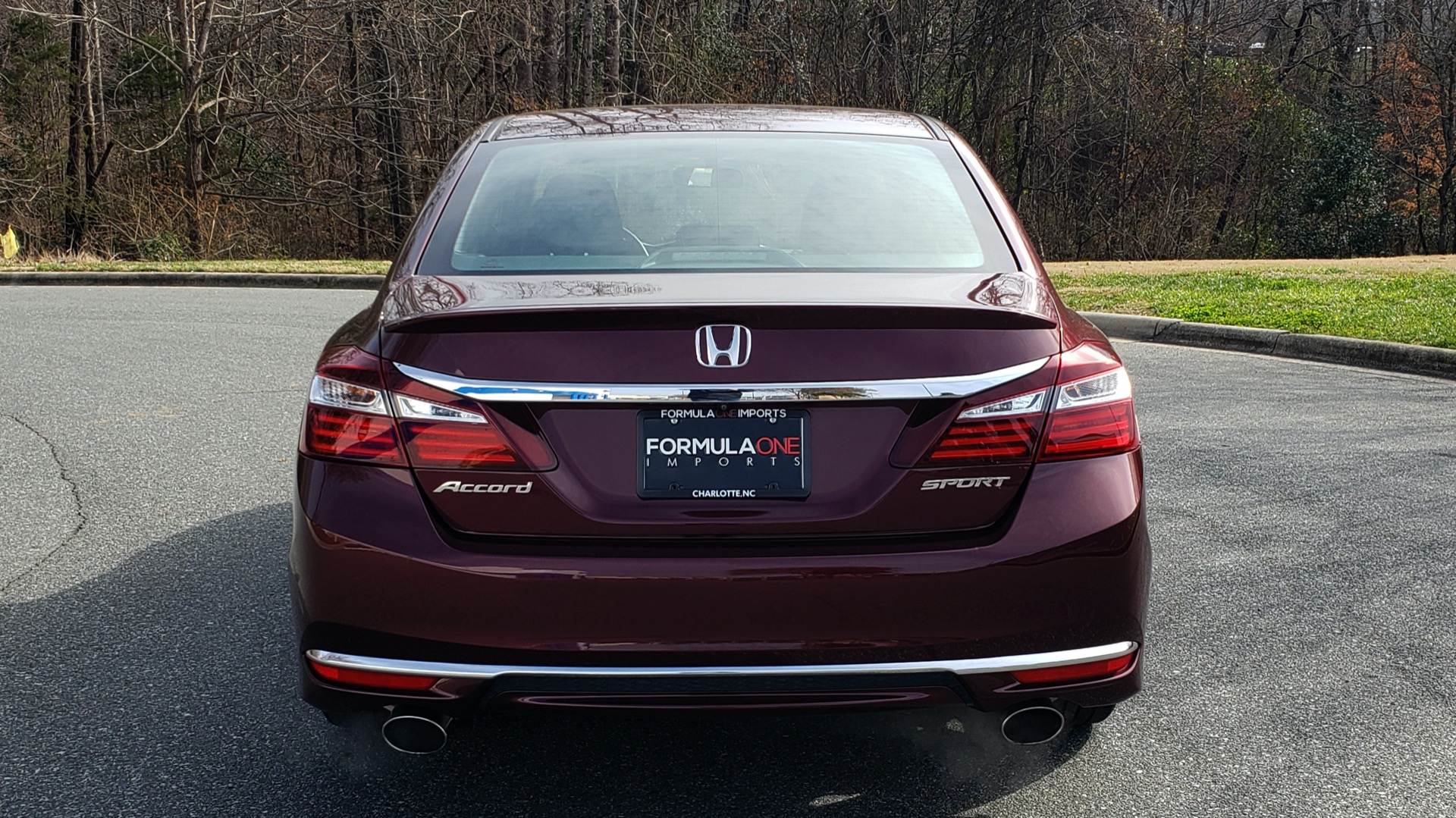 Used 2017 Honda ACCORD SEDAN SPORT / REARVIEW / / DUAL-ZONE A/C / 19IN ALLOY WHEELS for sale Sold at Formula Imports in Charlotte NC 28227 28