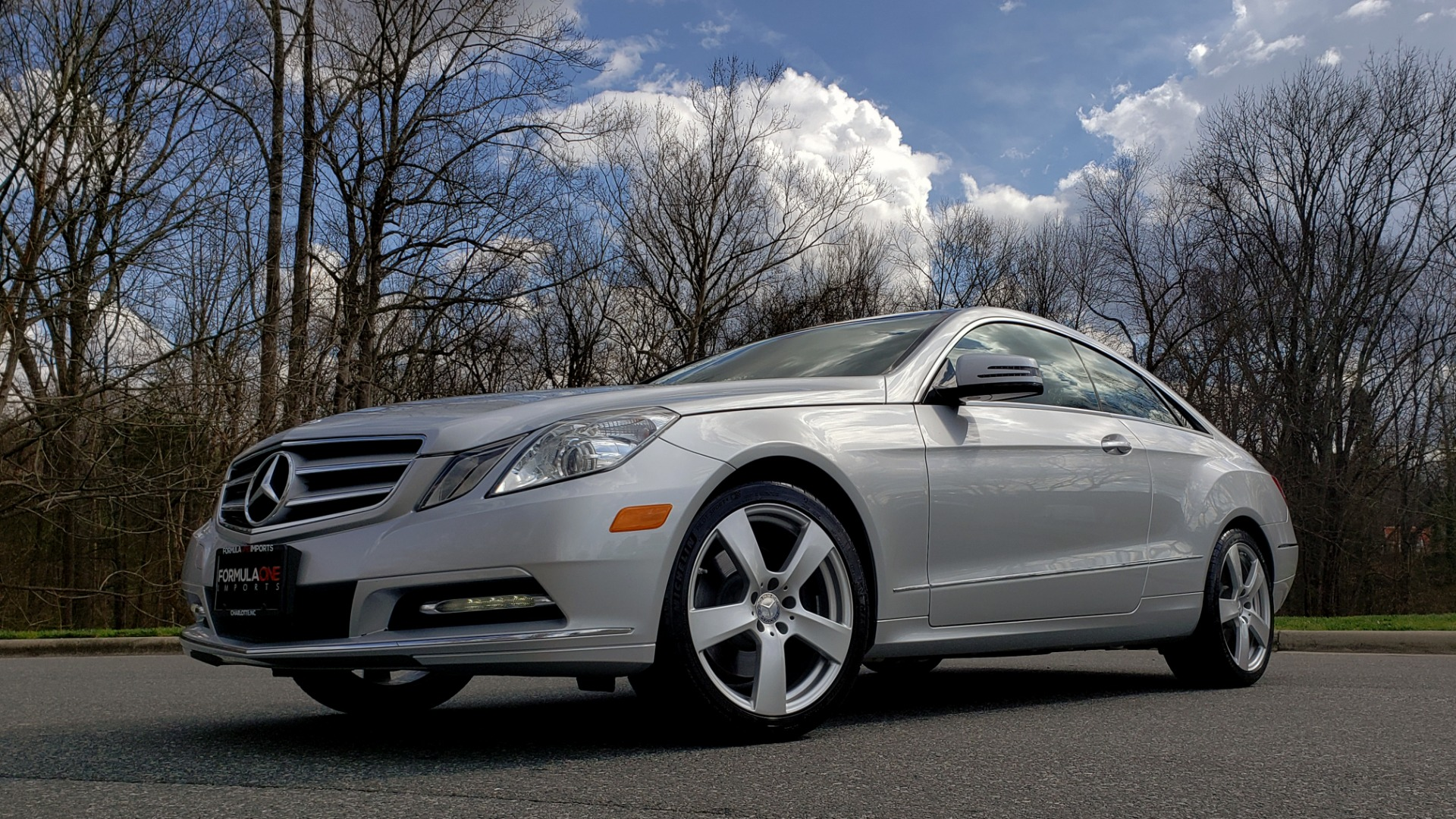 Used 2013 Mercedes-Benz E-CLASS E 350 COUPE PREM / NAV / PANO-ROFF / KEYLESS-GO / REARVIEW for sale Sold at Formula Imports in Charlotte NC 28227 2