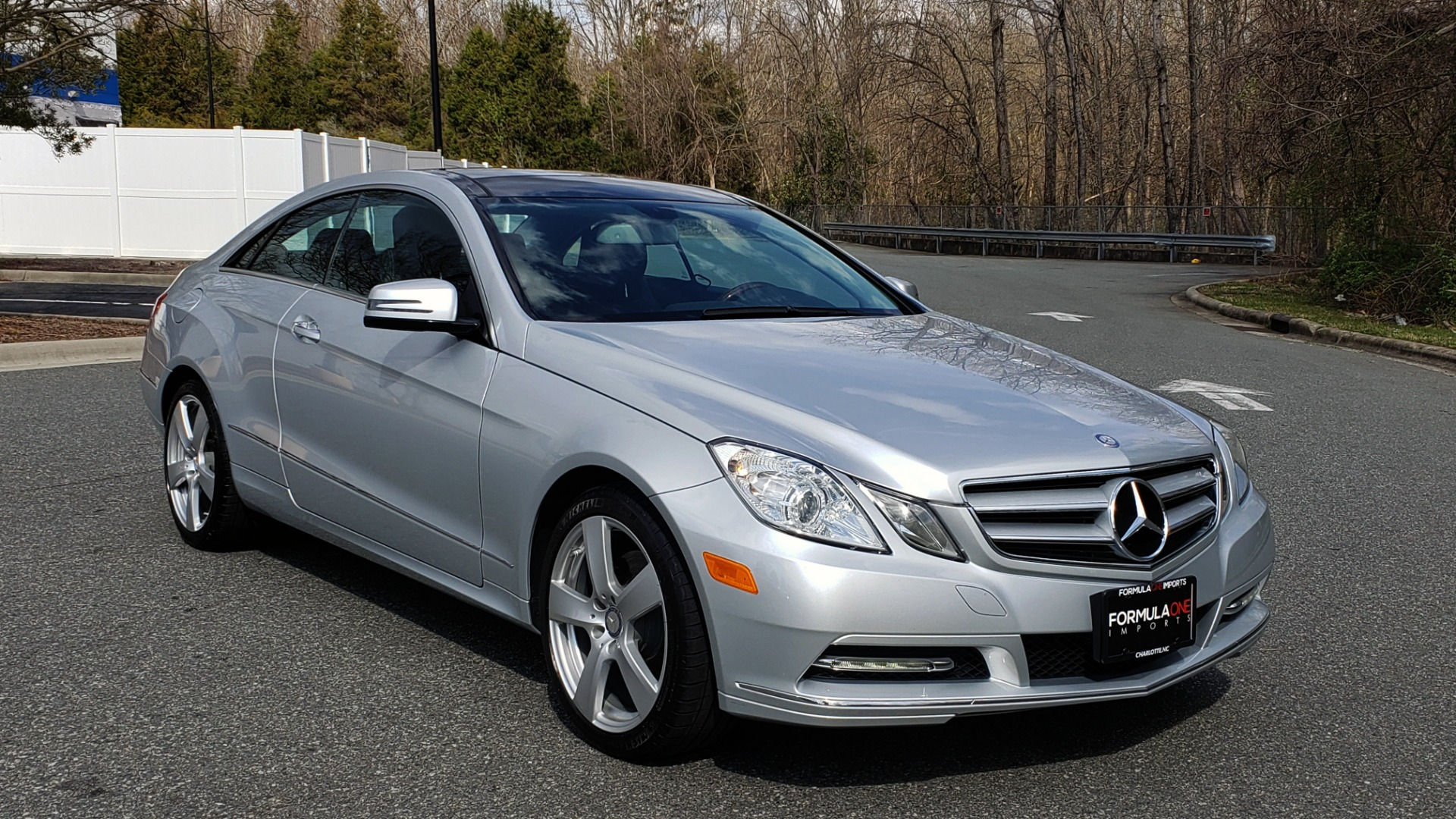 Used 2013 Mercedes-Benz E-CLASS E 350 COUPE PREM / NAV / PANO-ROFF / KEYLESS-GO / REARVIEW for sale Sold at Formula Imports in Charlotte NC 28227 5