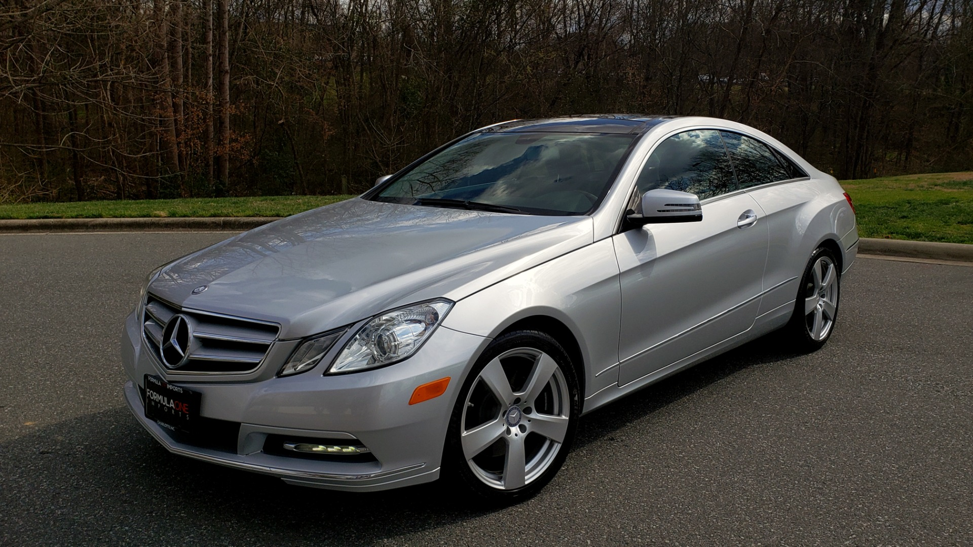 Used 2013 Mercedes-Benz E-CLASS E 350 COUPE PREM / NAV / PANO-ROFF / KEYLESS-GO / REARVIEW for sale Sold at Formula Imports in Charlotte NC 28227 1