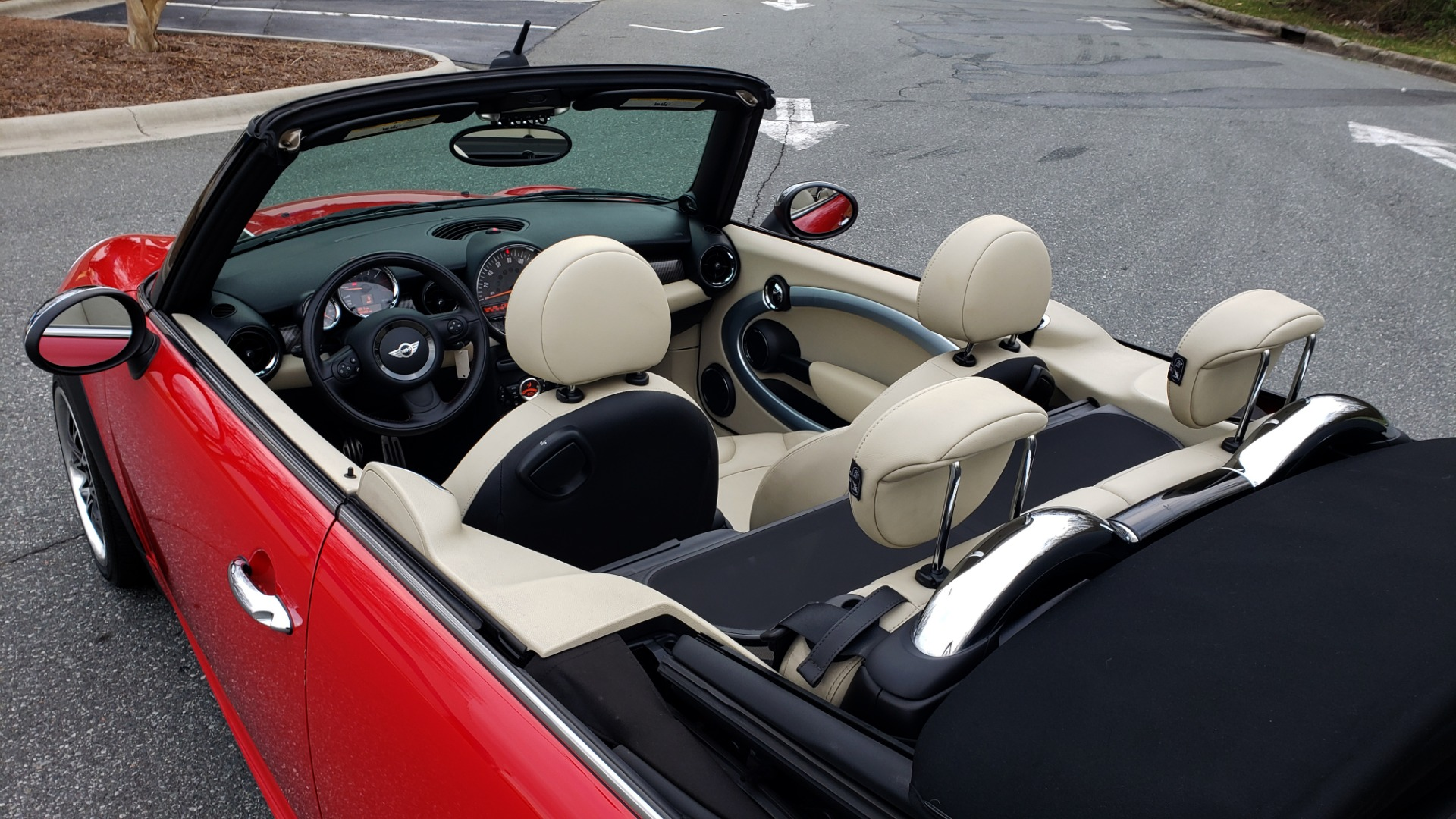 Used 2012 MINI COOPER JOHN COOPER WORKS CONVERTIBLE for sale Sold at Formula Imports in Charlotte NC 28227 16