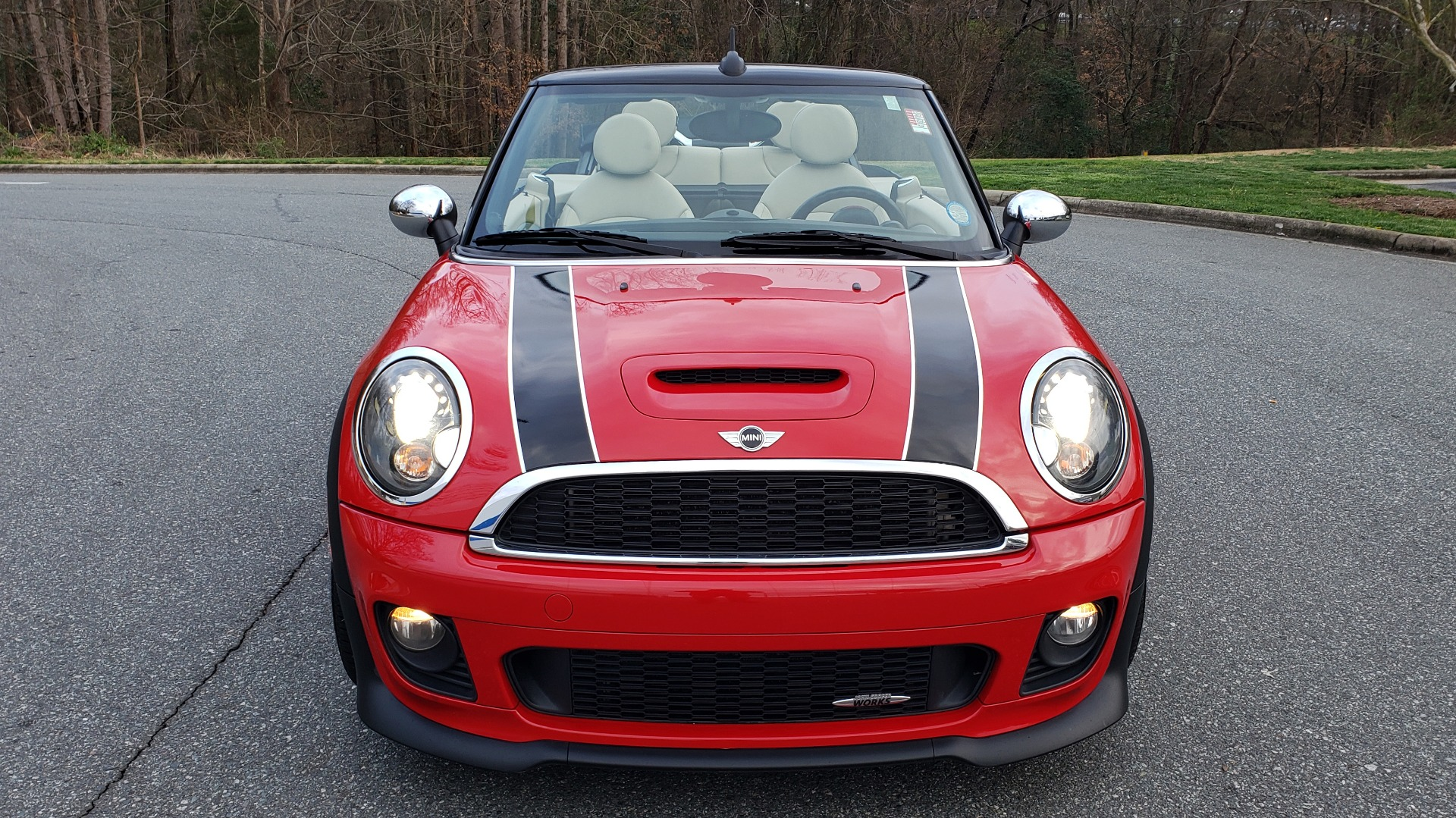 Used 2012 MINI COOPER JOHN COOPER WORKS CONVERTIBLE for sale Sold at Formula Imports in Charlotte NC 28227 24