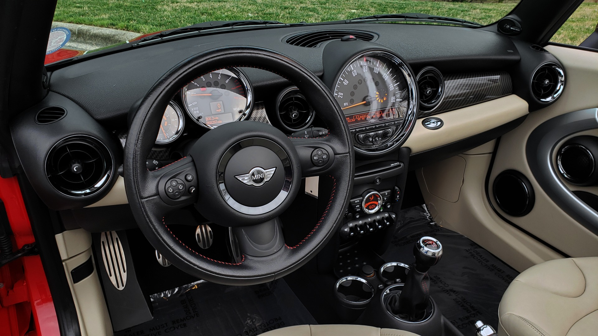 Used 2012 MINI COOPER JOHN COOPER WORKS CONVERTIBLE for sale Sold at Formula Imports in Charlotte NC 28227 39