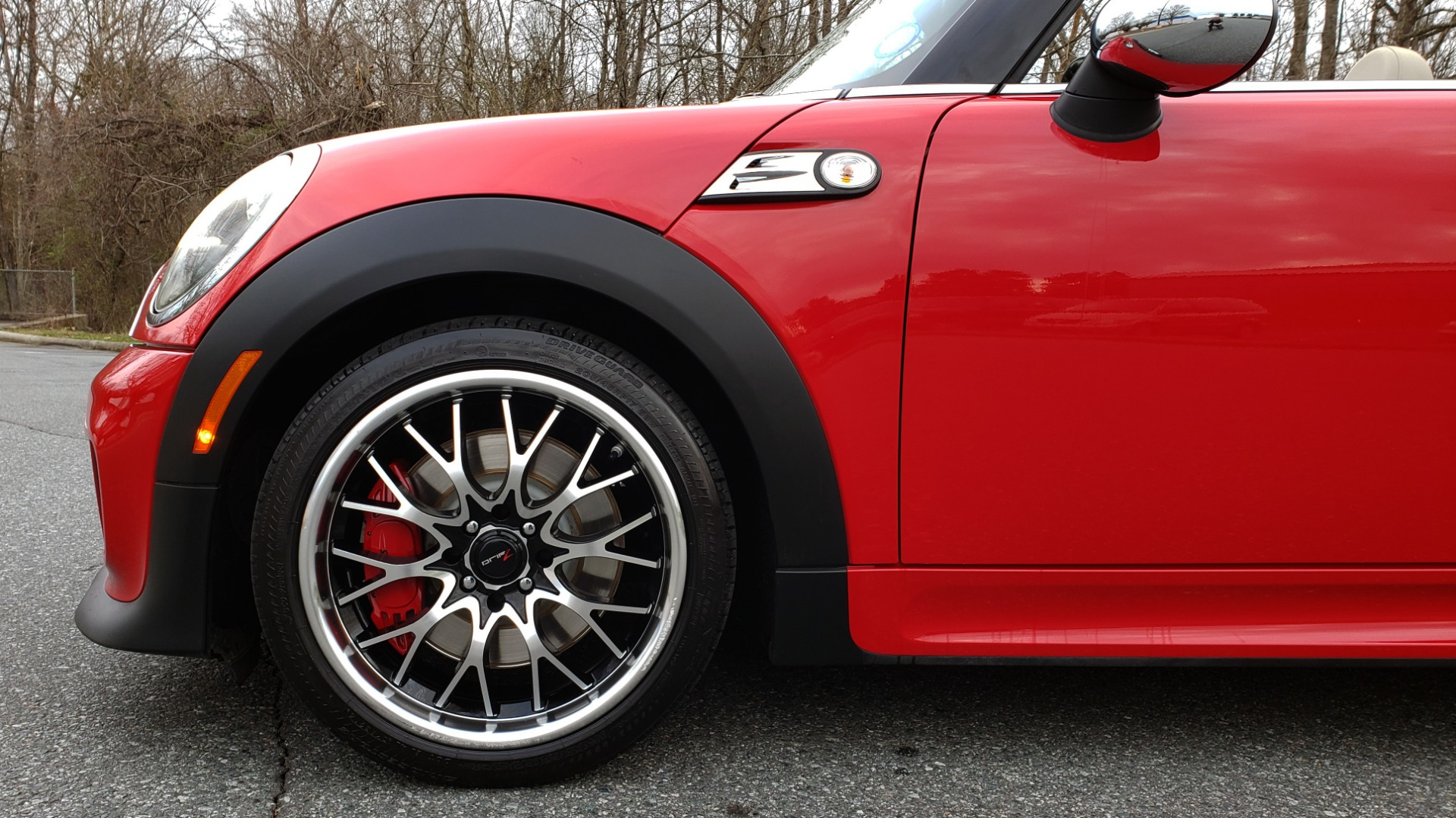 Used 2012 MINI COOPER JOHN COOPER WORKS CONVERTIBLE for sale Sold at Formula Imports in Charlotte NC 28227 58