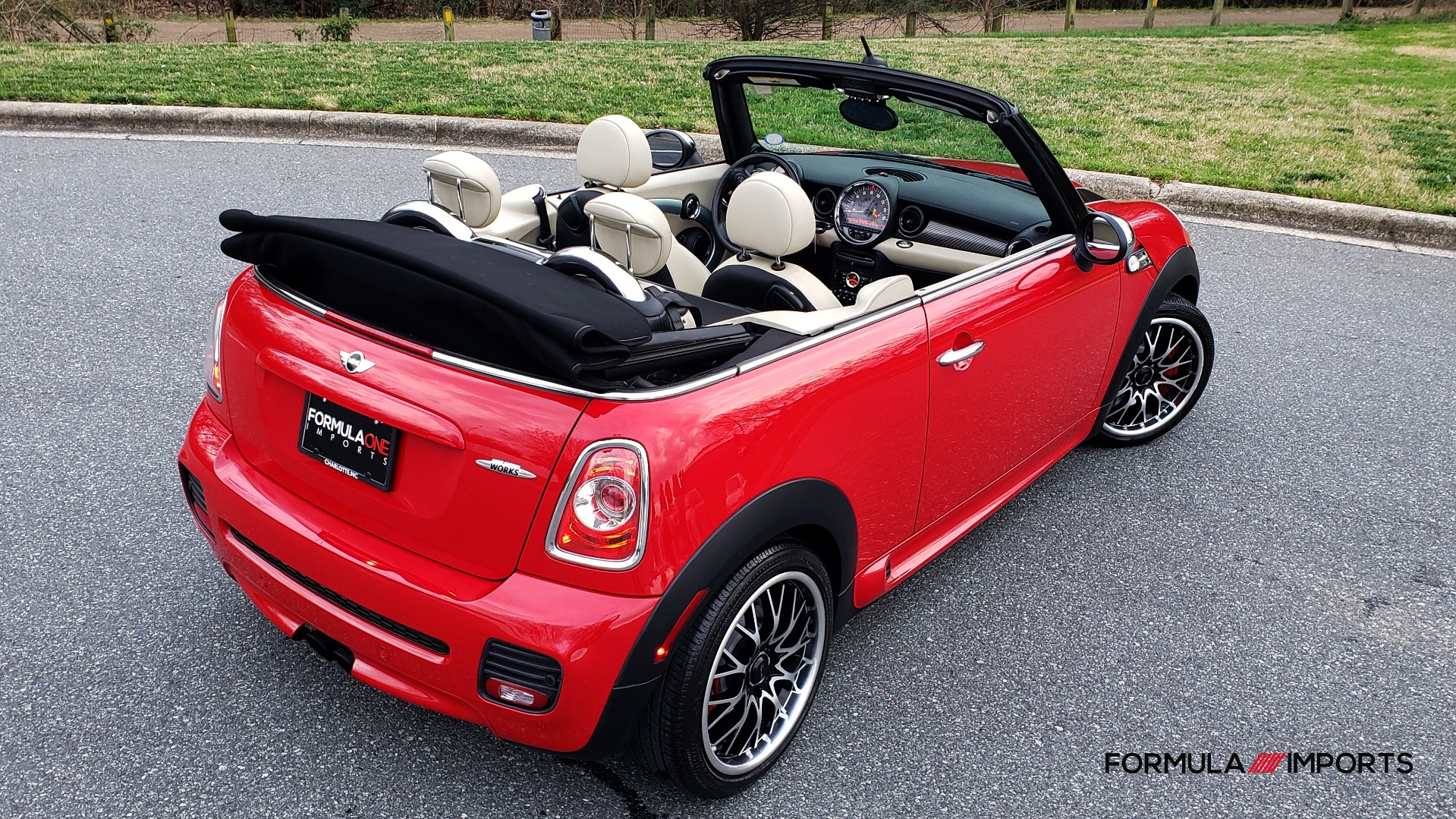 Used 2012 MINI COOPER JOHN COOPER WORKS CONVERTIBLE for sale Sold at Formula Imports in Charlotte NC 28227 6