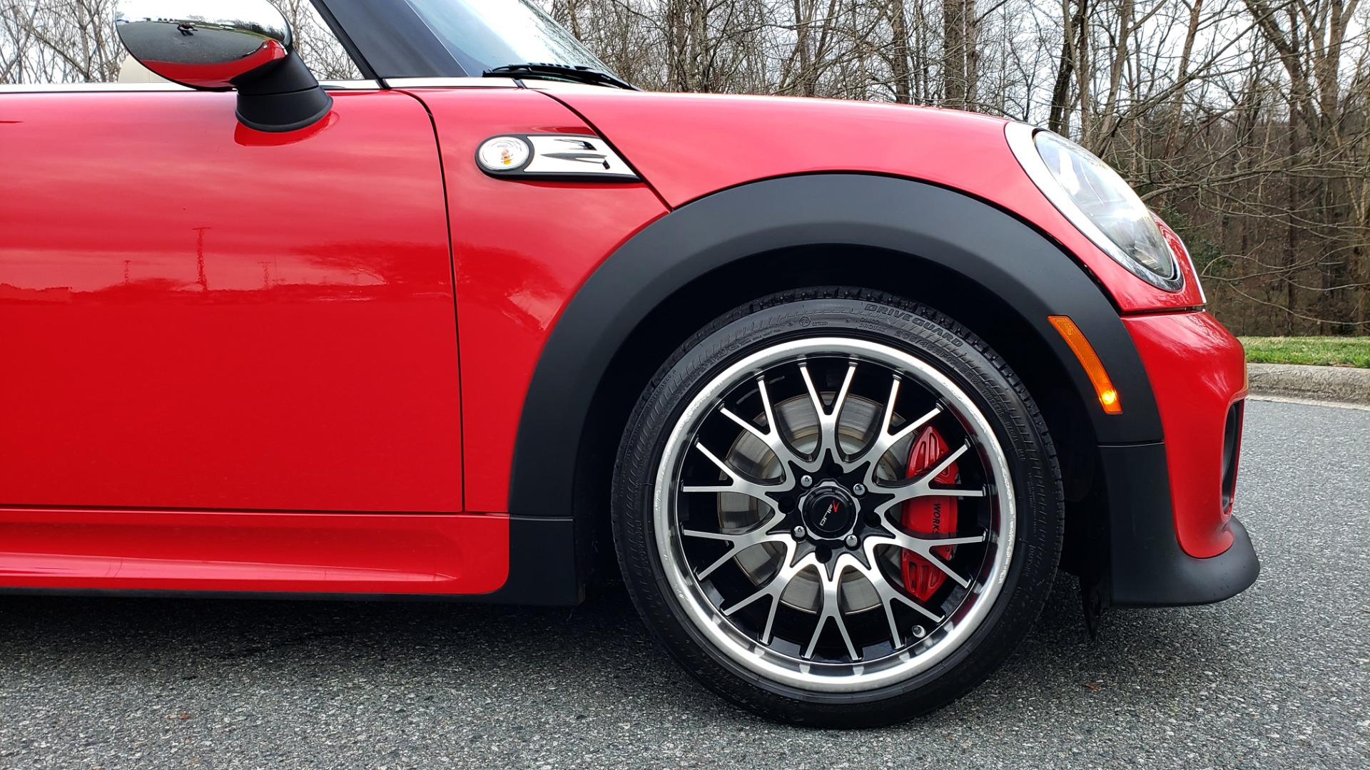 Used 2012 MINI COOPER JOHN COOPER WORKS CONVERTIBLE for sale Sold at Formula Imports in Charlotte NC 28227 61