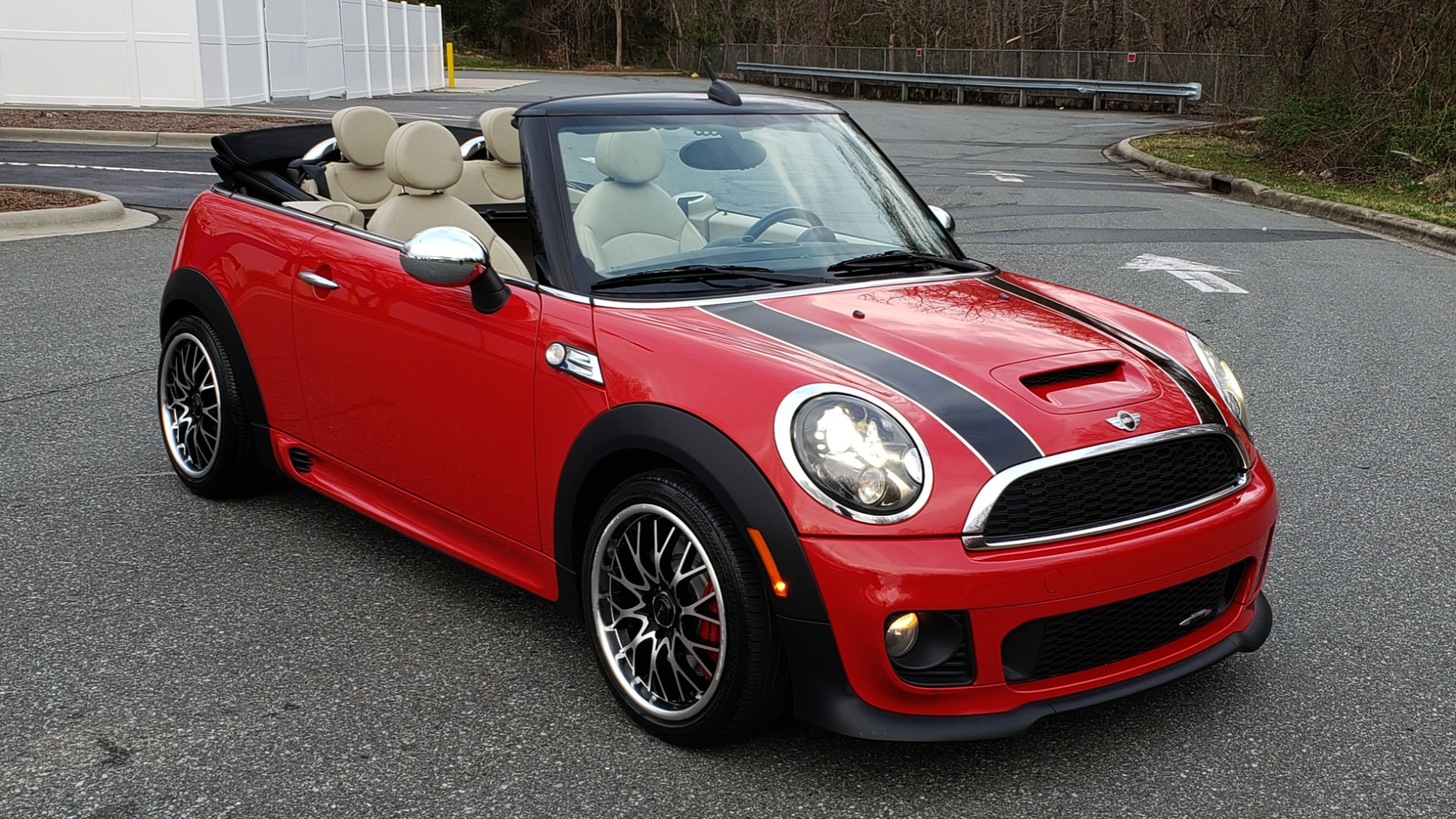 Used 2012 MINI COOPER JOHN COOPER WORKS CONVERTIBLE for sale Sold at Formula Imports in Charlotte NC 28227 9