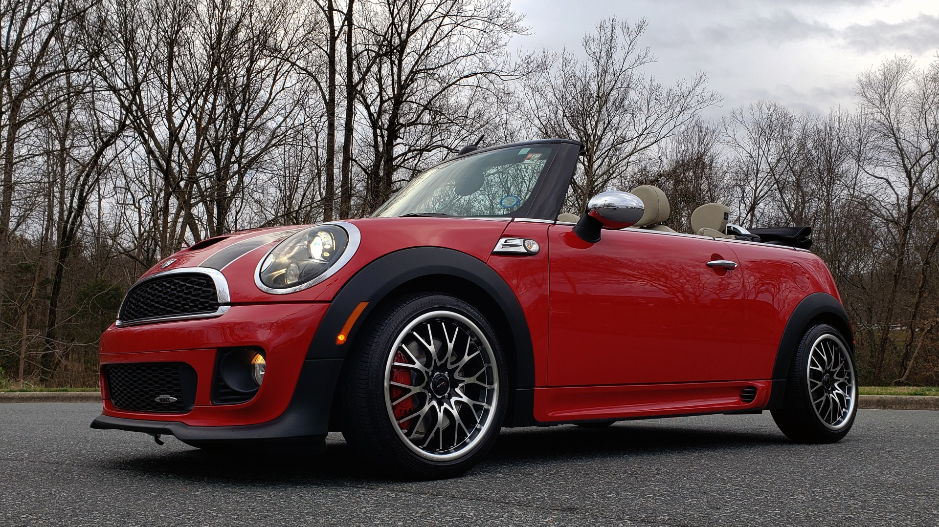 Used 2012 MINI COOPER JOHN COOPER WORKS CONVERTIBLE for sale Sold at Formula Imports in Charlotte NC 28227 1