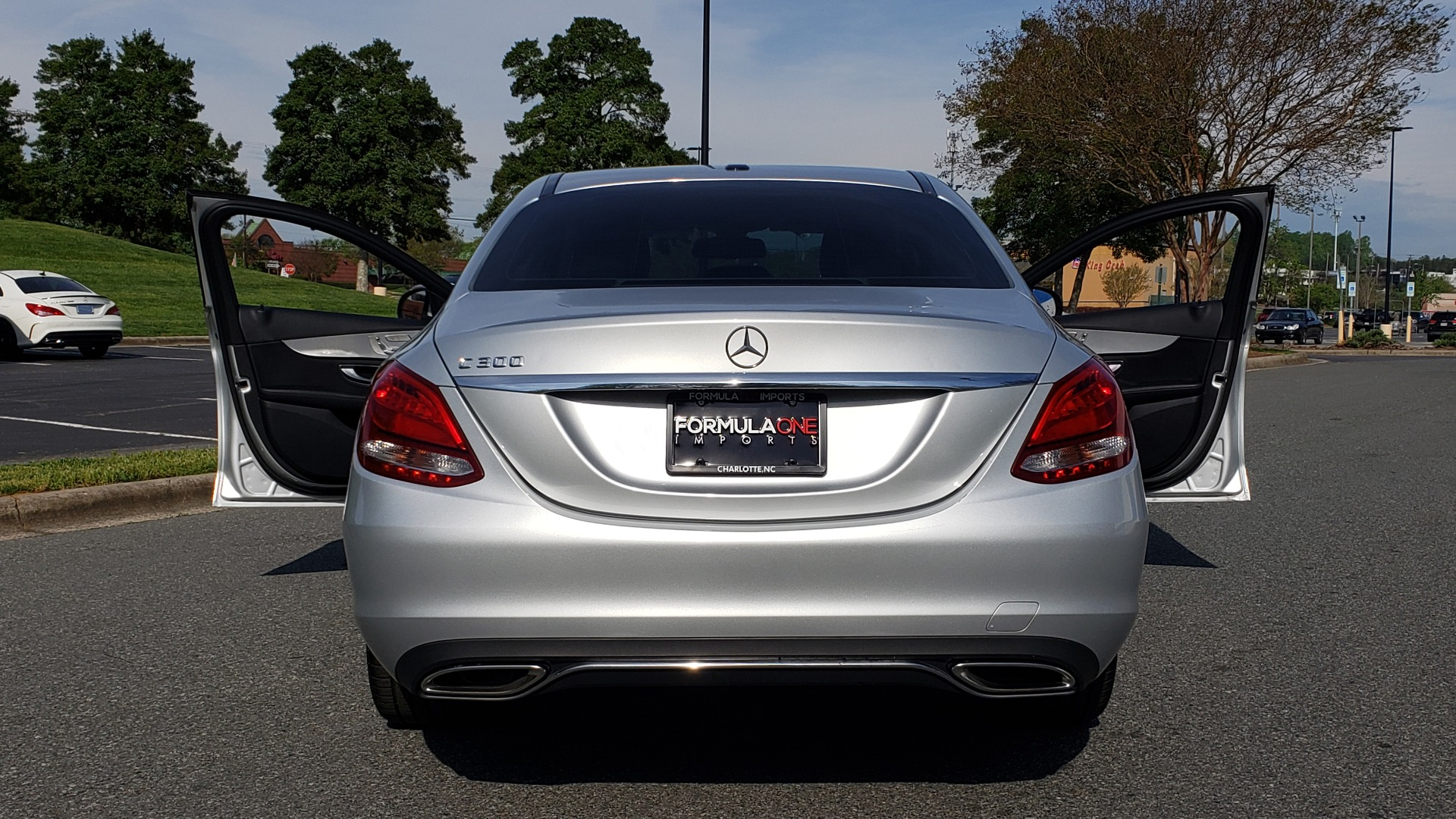 Used 2016 Mercedes-Benz C-CLASS C 300 PREMIUM / NAV / SNRF/ HTD STS / REARVIEW / BSM for sale Sold at Formula Imports in Charlotte NC 28227 18
