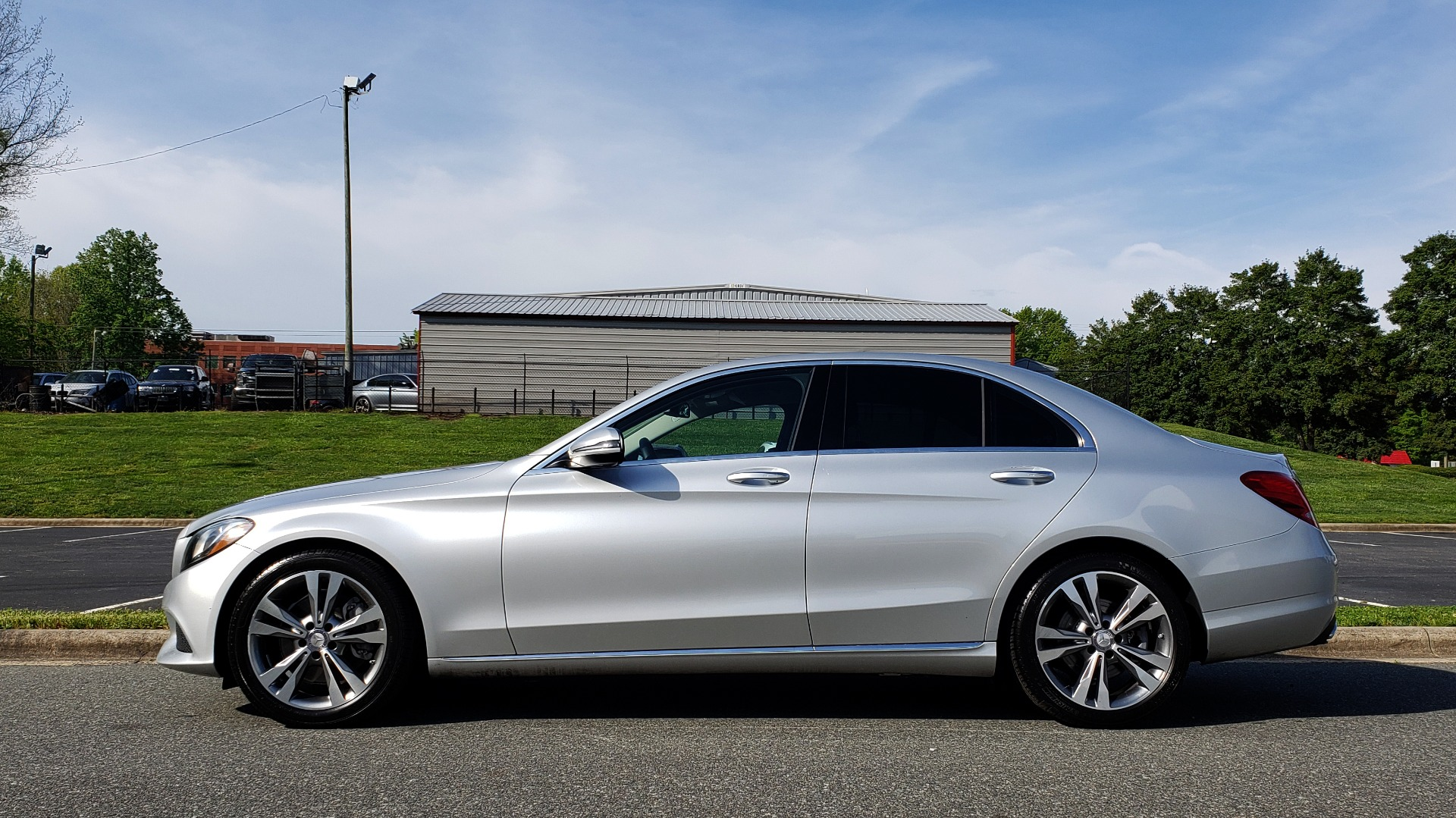 Used 2016 Mercedes-Benz C-CLASS C 300 PREMIUM / NAV / SNRF/ HTD STS / REARVIEW / BSM for sale Sold at Formula Imports in Charlotte NC 28227 2