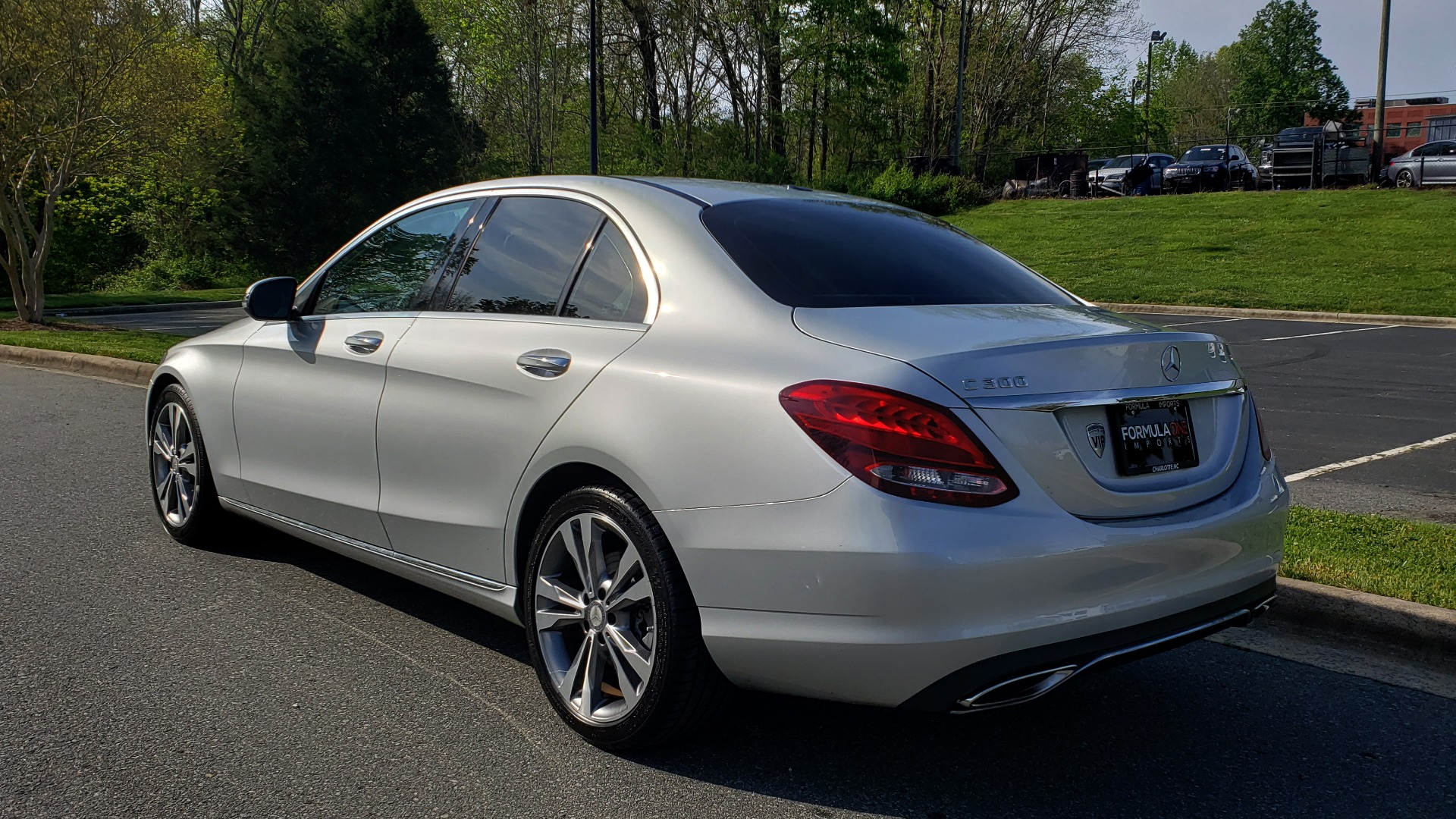 Used 2016 Mercedes-Benz C-CLASS C 300 PREMIUM / NAV / SNRF/ HTD STS / REARVIEW / BSM for sale Sold at Formula Imports in Charlotte NC 28227 3