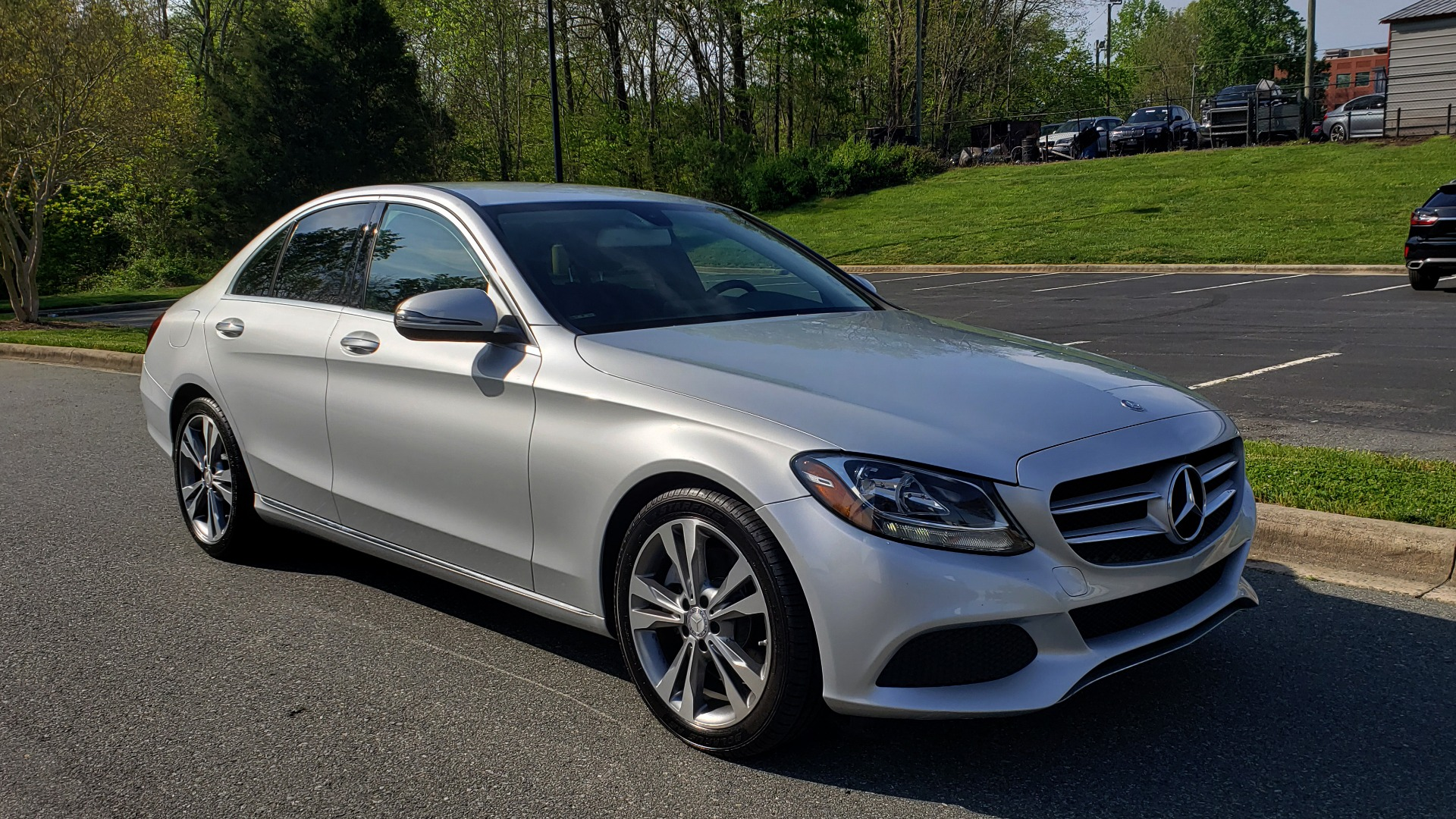 Used 2016 Mercedes-Benz C-CLASS C 300 PREMIUM / NAV / SNRF/ HTD STS / REARVIEW / BSM for sale Sold at Formula Imports in Charlotte NC 28227 4