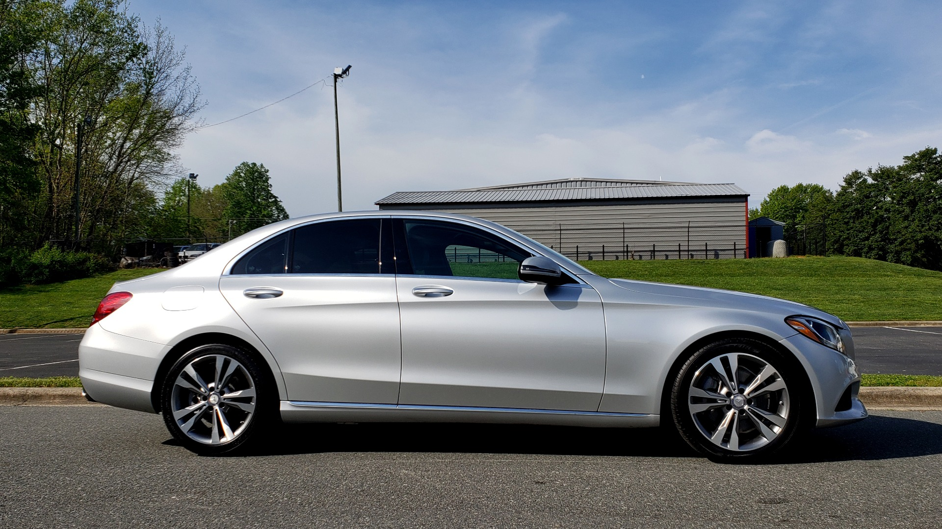 Used 2016 Mercedes-Benz C-CLASS C 300 PREMIUM / NAV / SNRF/ HTD STS / REARVIEW / BSM for sale Sold at Formula Imports in Charlotte NC 28227 5