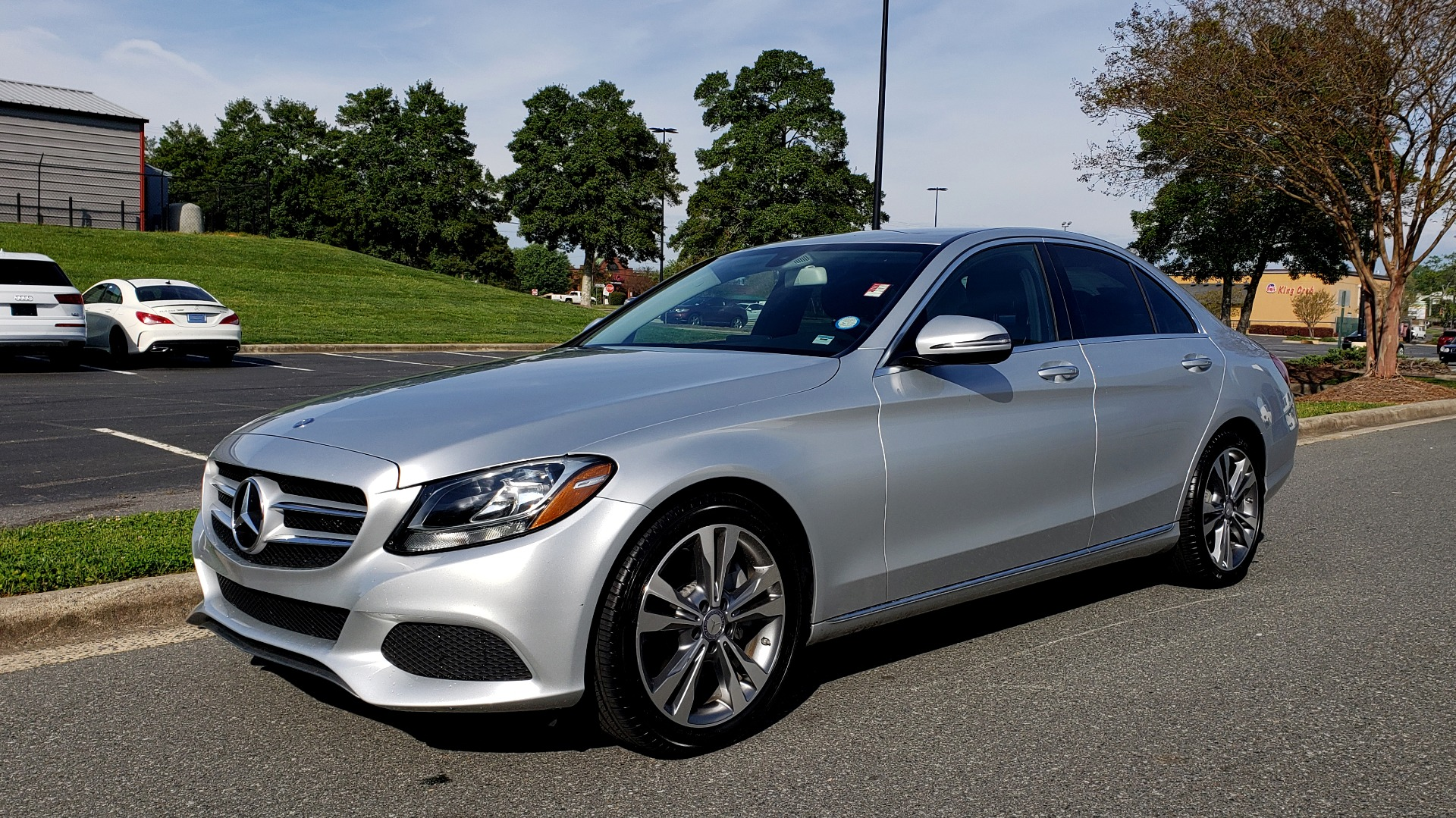 Used 2016 Mercedes-Benz C-CLASS C 300 PREMIUM / NAV / SNRF/ HTD STS / REARVIEW / BSM for sale Sold at Formula Imports in Charlotte NC 28227 1