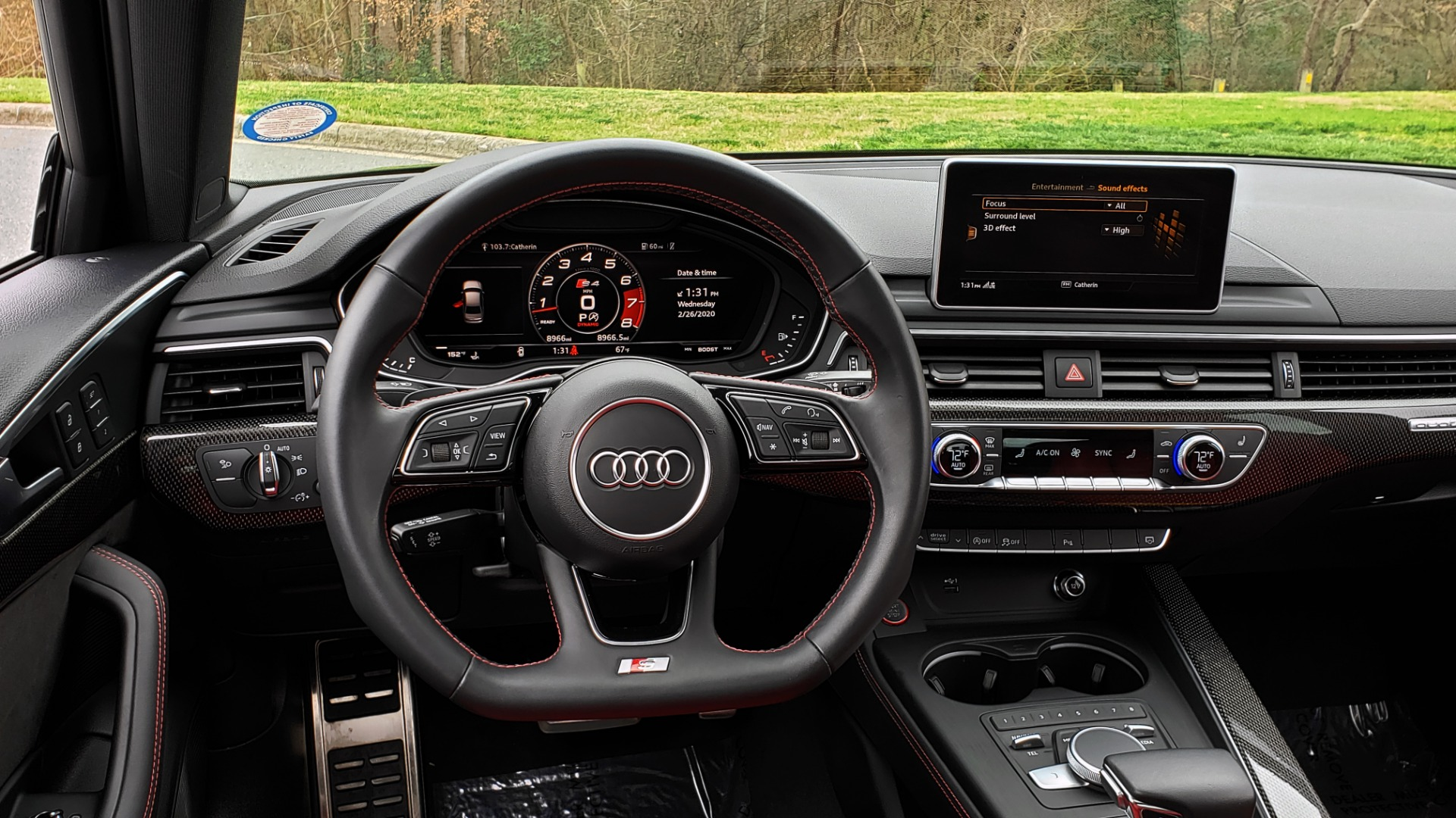 Used 2019 Audi S4 PREMIUM PLUS / AWD / NAV / SUNROOF / B&O SOUND / REARVIEW for sale Sold at Formula Imports in Charlotte NC 28227 40